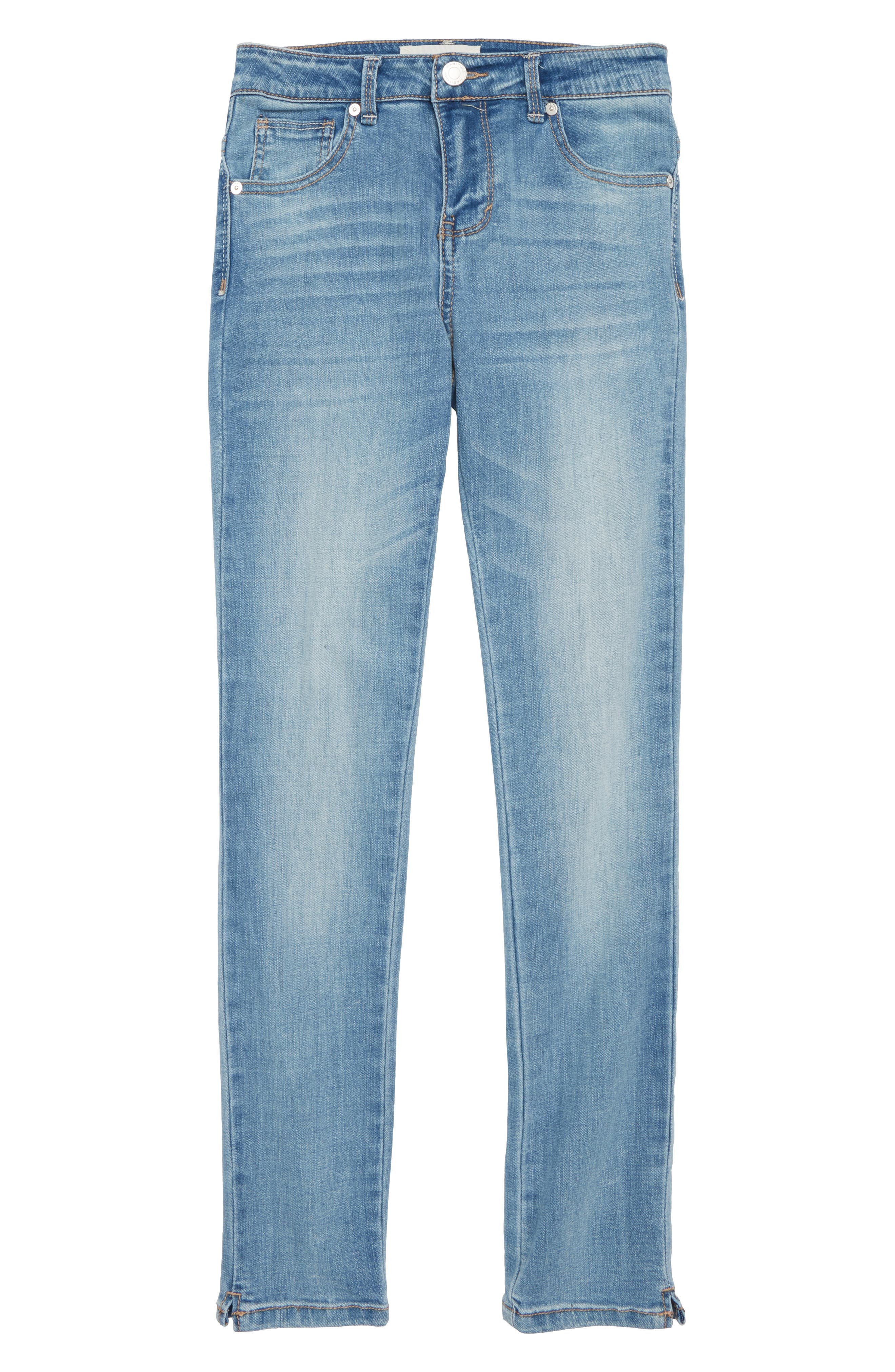 Skinny Jeans,                         Main,                         color, Light Stone