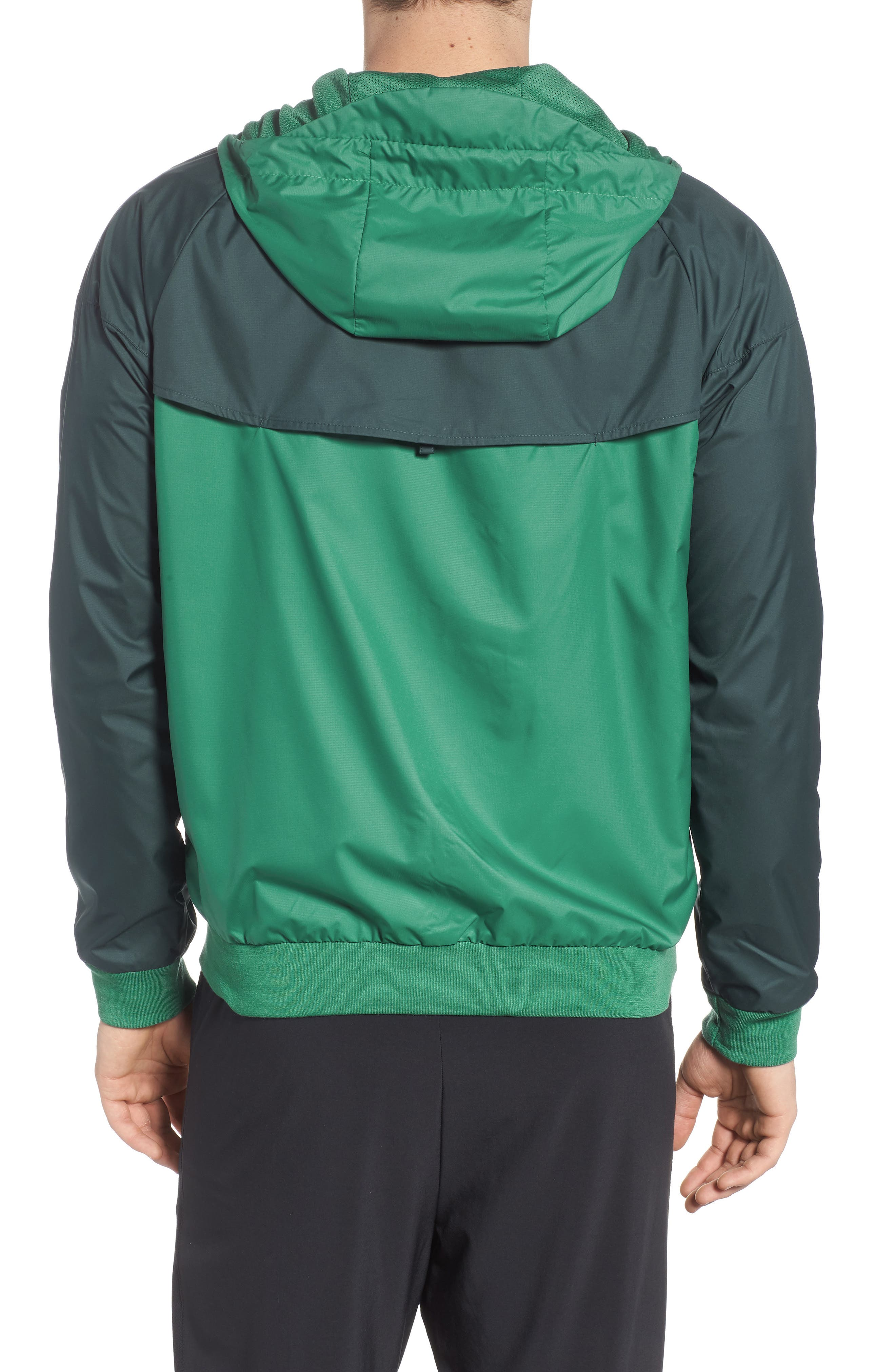 'Windrunner' Colorblock Jacket,                             Alternate thumbnail 2, color,                             Green Noise/ Deep Jungle