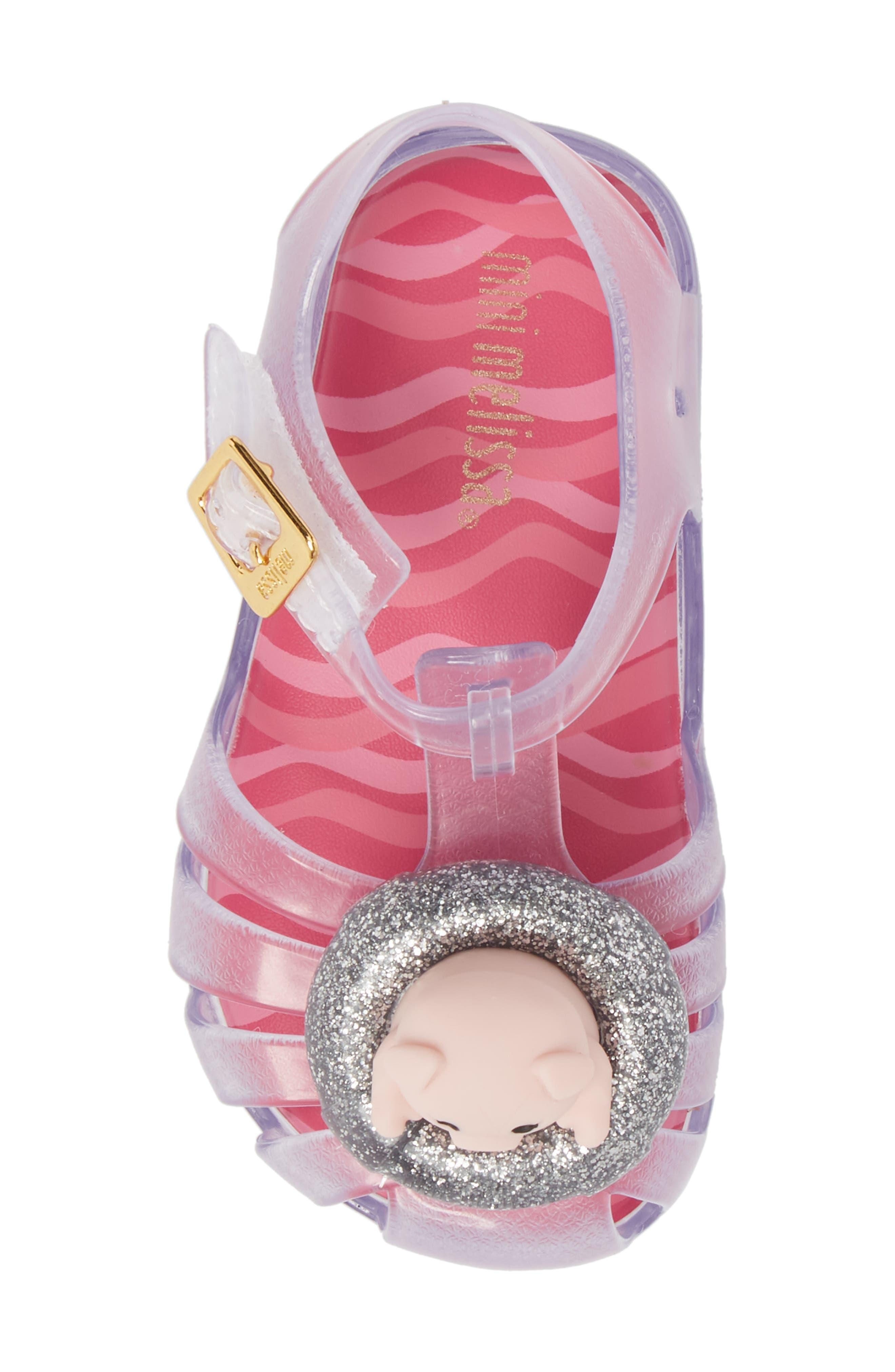 Alternate Image 5  - Mini Melissa Aranha XI Jelly Sandal (Walker & Toddler)