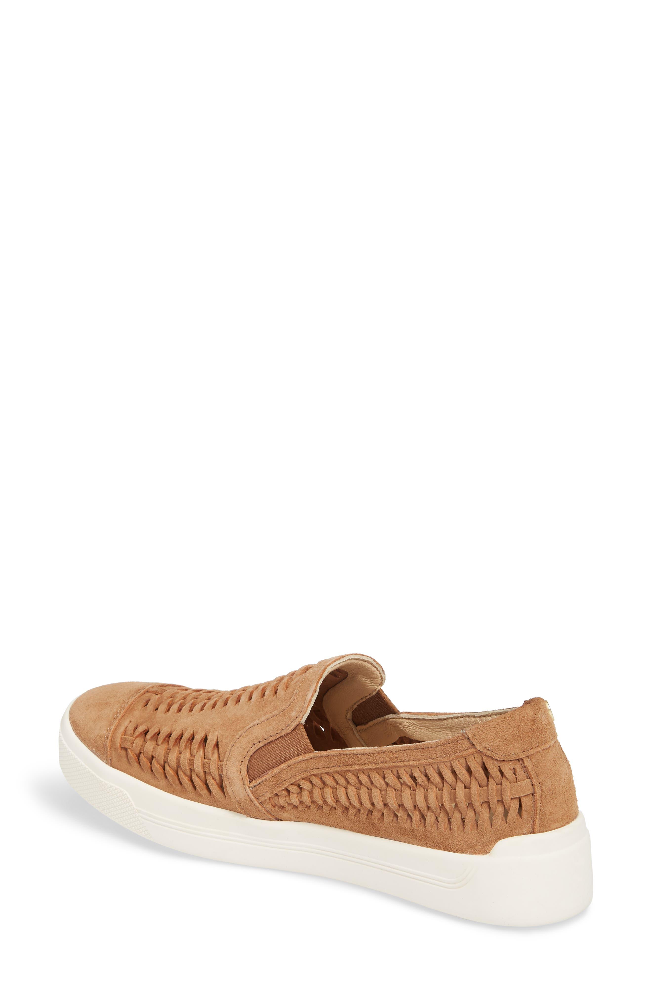 Gabbie Slip-On Sneaker,                             Alternate thumbnail 2, color,                             Tan Suede