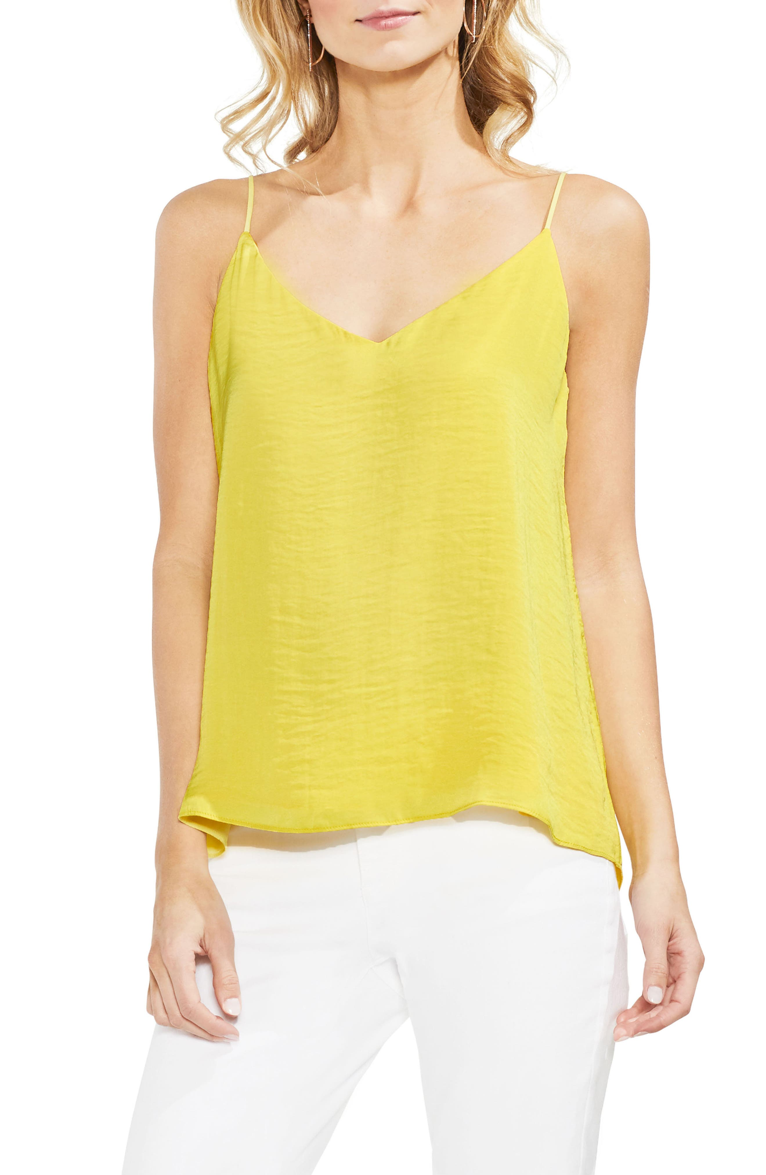 Vince Camuto Lace-Up Back Camisole