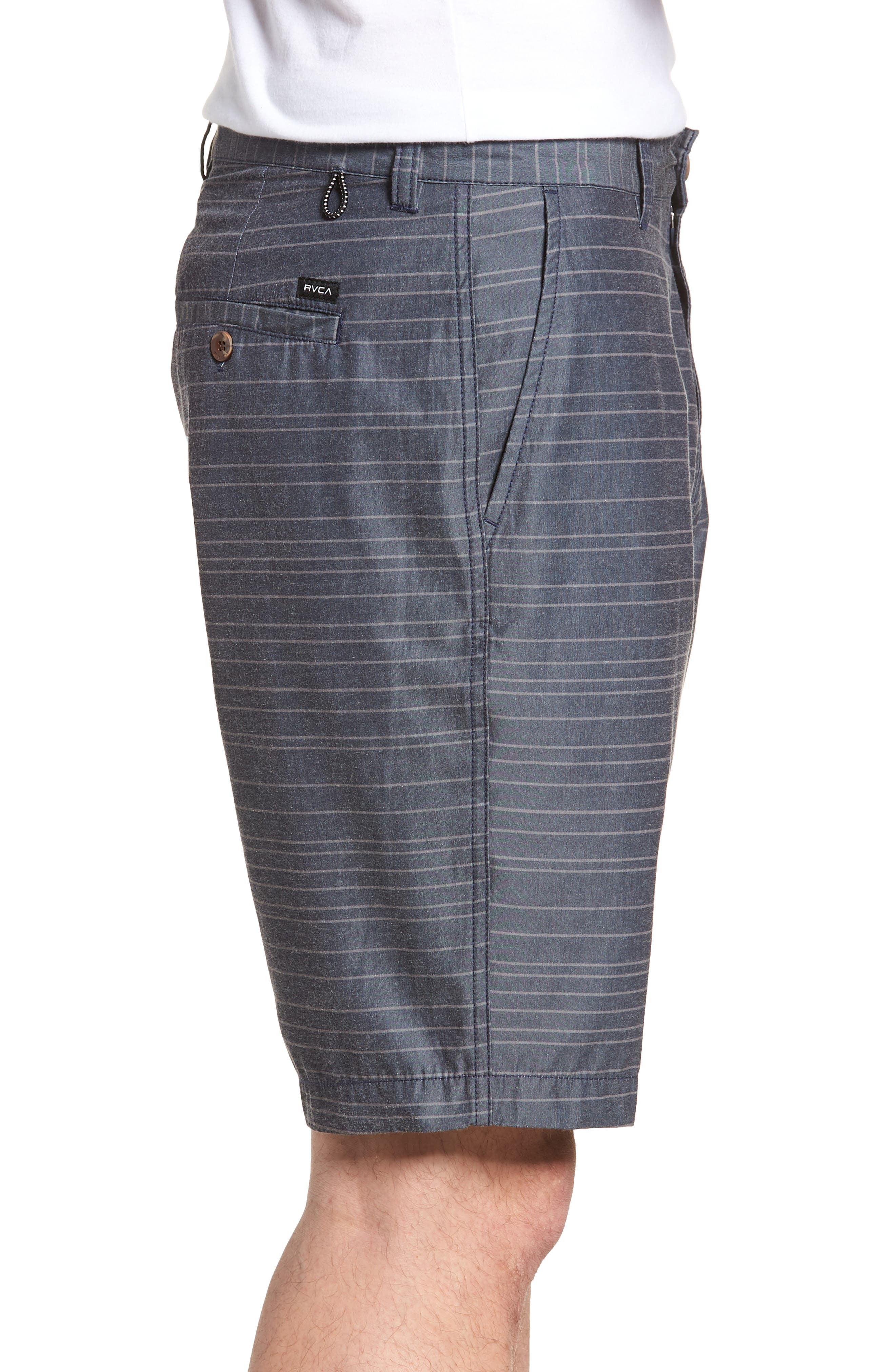 Weekend Hybrid II Shorts,                             Alternate thumbnail 3, color,                             Classic Indigo
