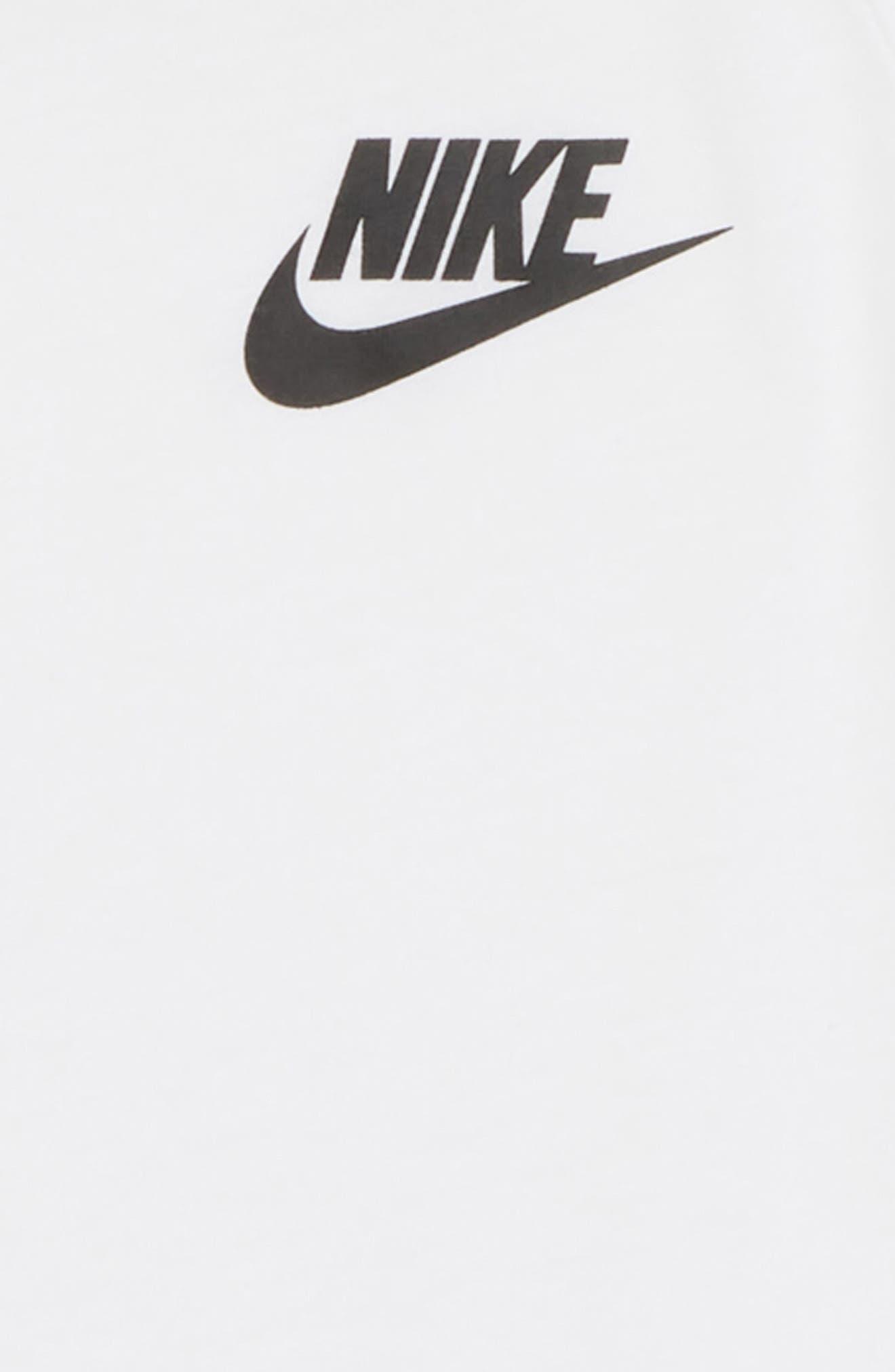 Sportswear Tee,                             Alternate thumbnail 2, color,                             White/ Black