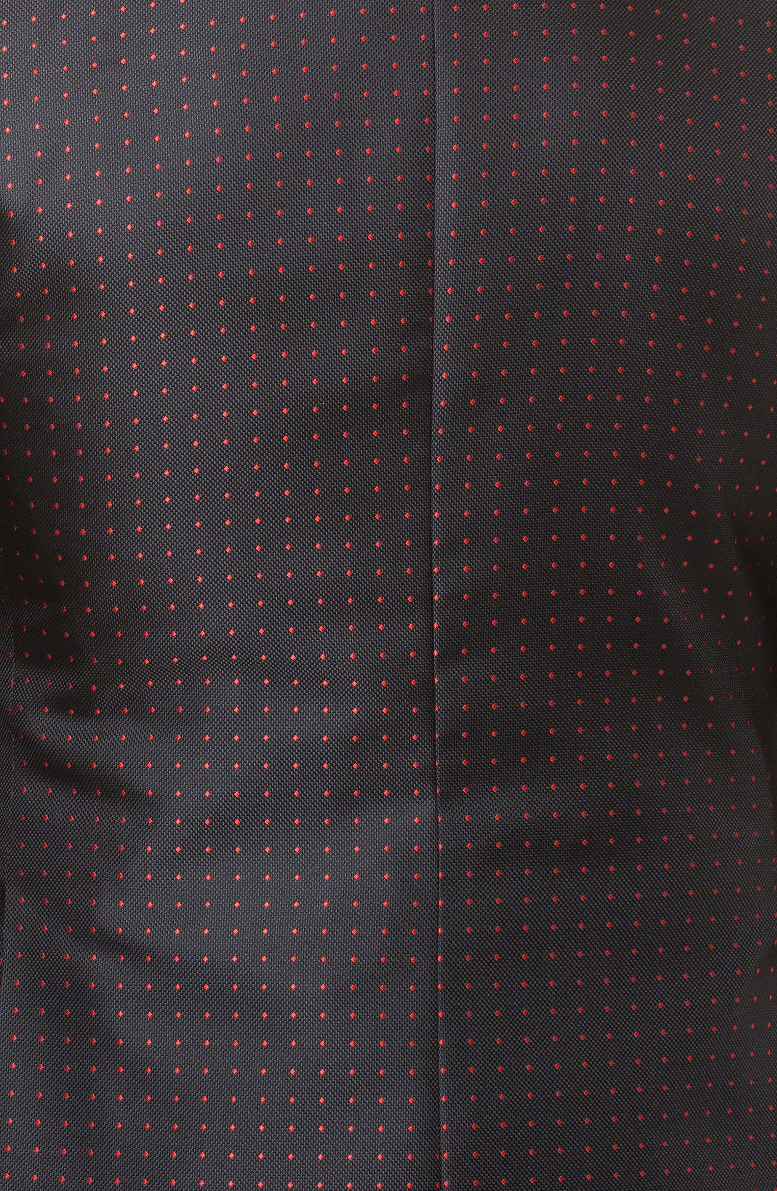 Socrate Dexter Sport Coat,                             Alternate thumbnail 5, color,                             Black