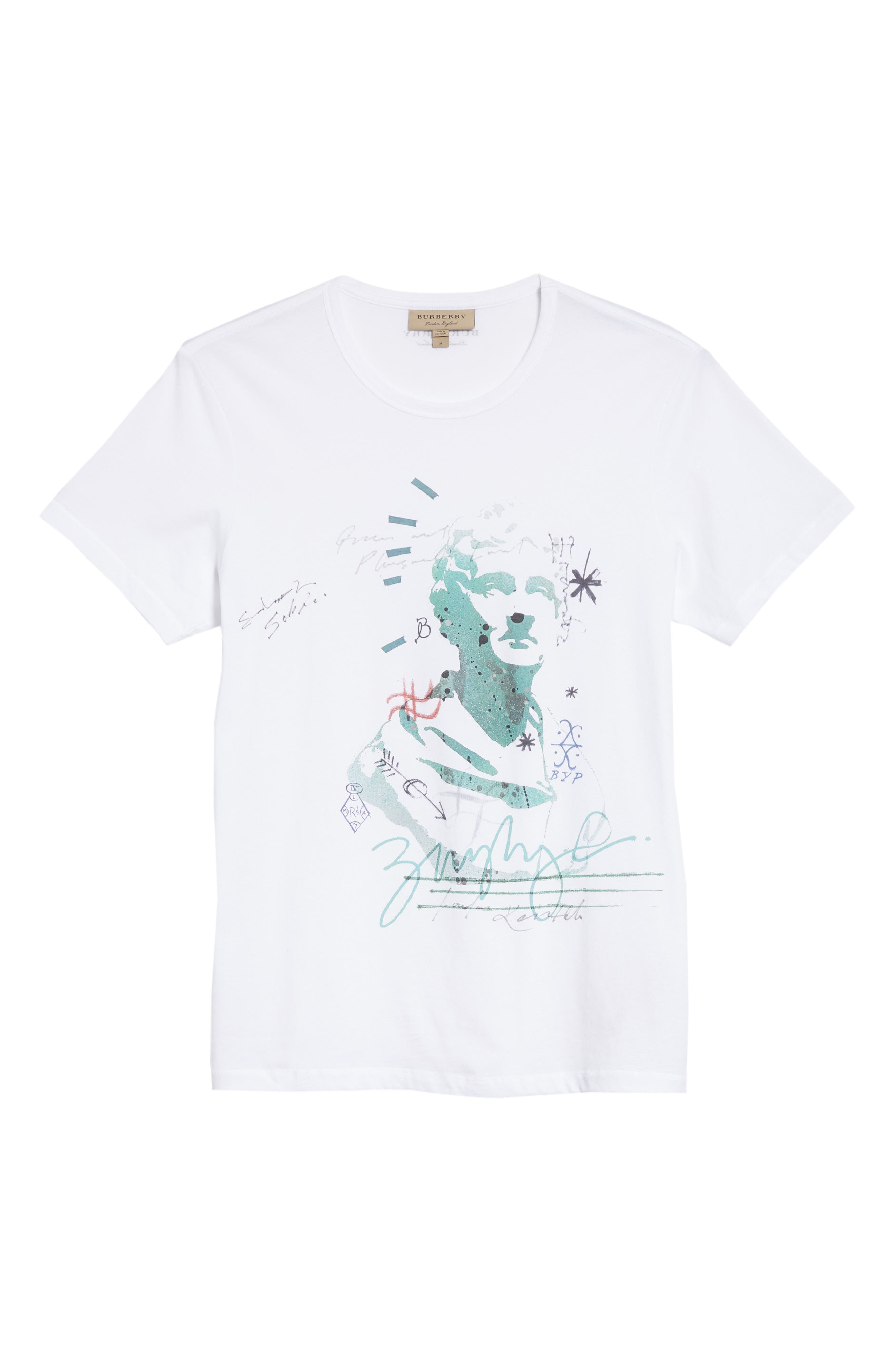 Camberley Abith Graphic T-Shirt,                             Alternate thumbnail 6, color,                             White