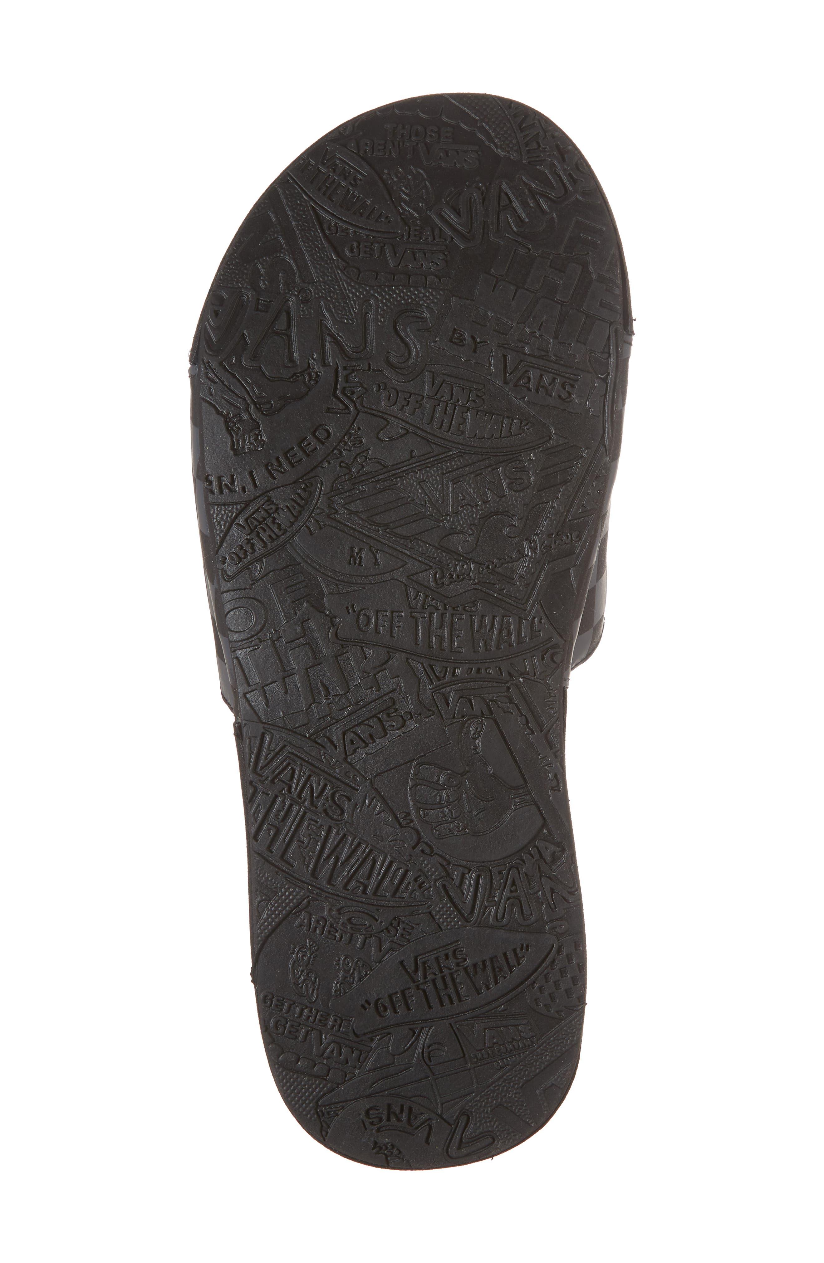 Nexpa Slide Sandal,                             Alternate thumbnail 6, color,                             Black/ Asphalt