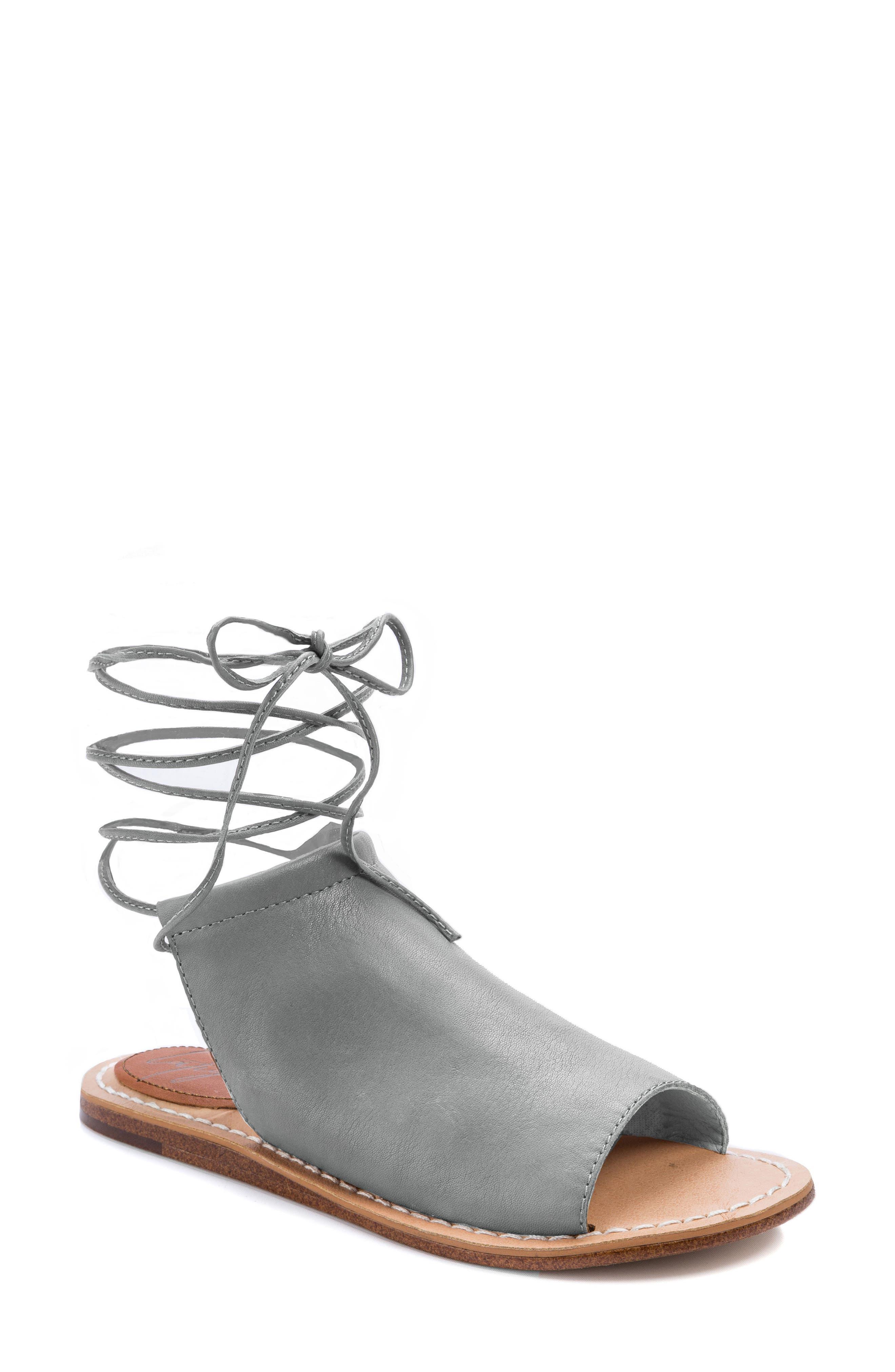 Vin Sandal,                         Main,                         color, Mist Grey