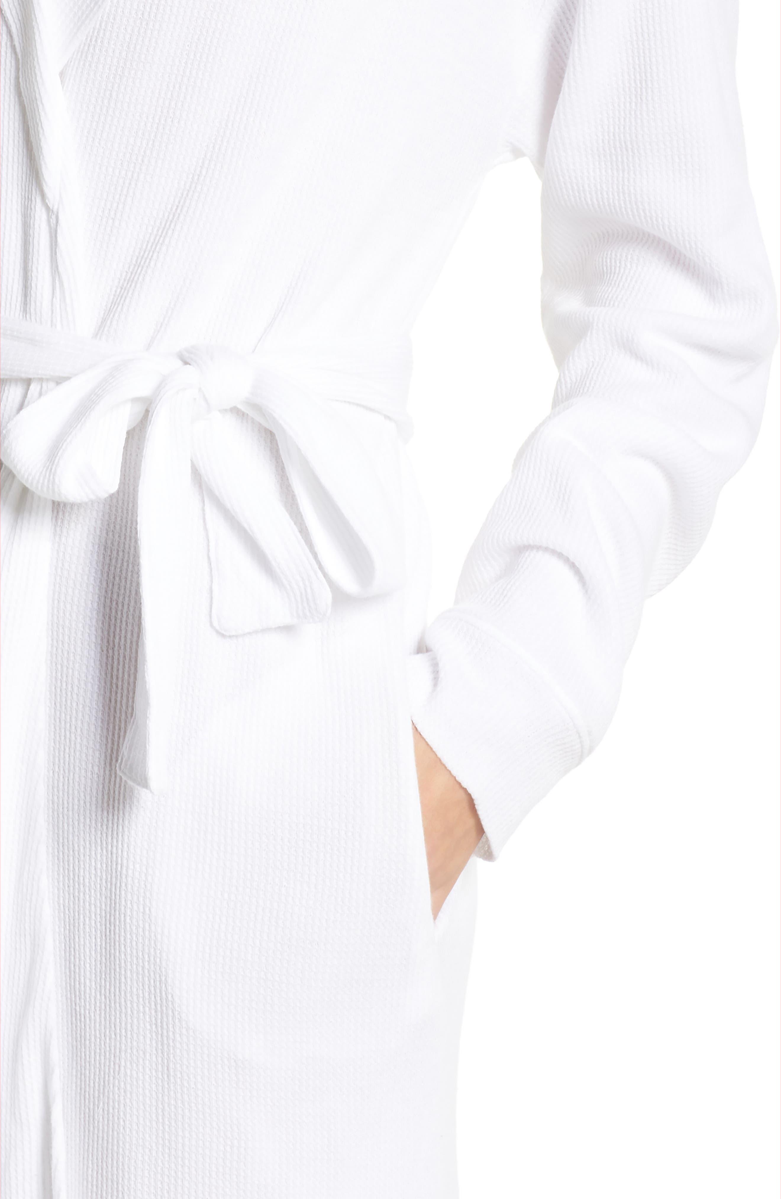 Avedon Robe,                             Alternate thumbnail 4, color,                             White
