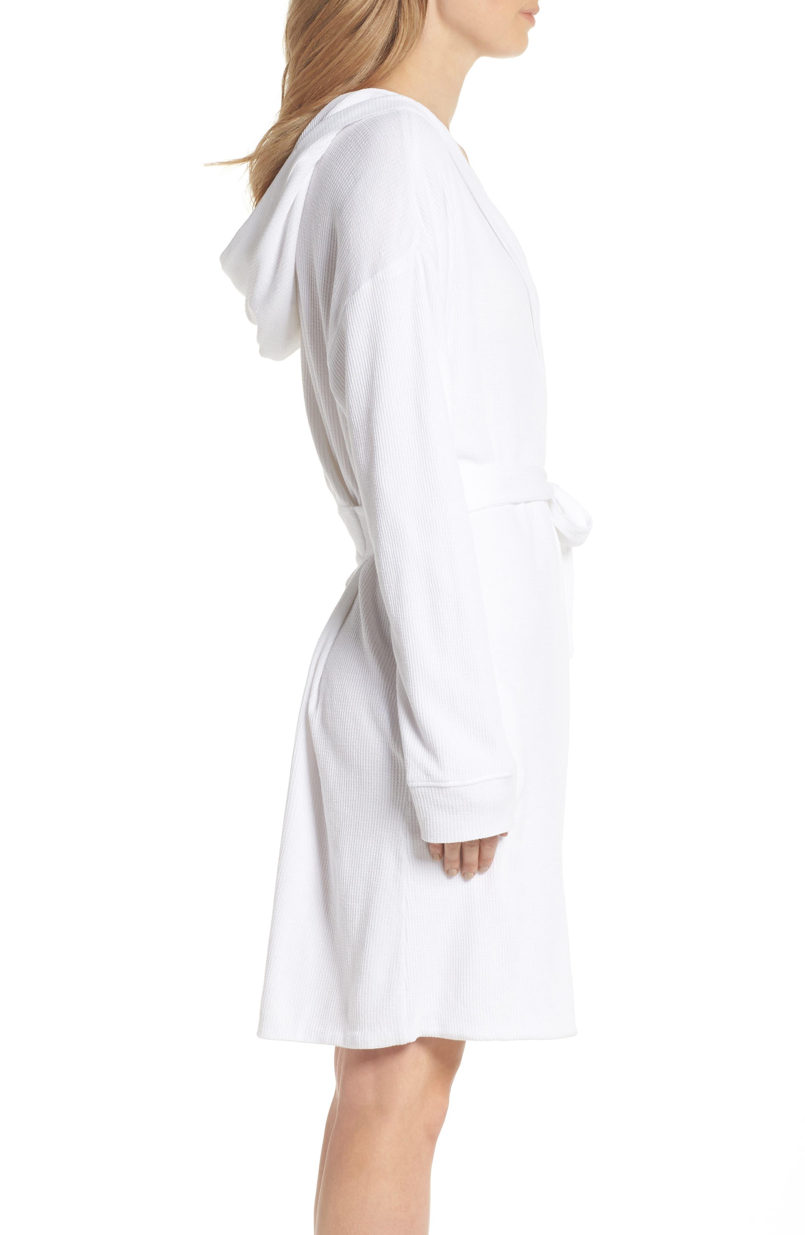 Avedon Robe,                             Alternate thumbnail 3, color,                             White