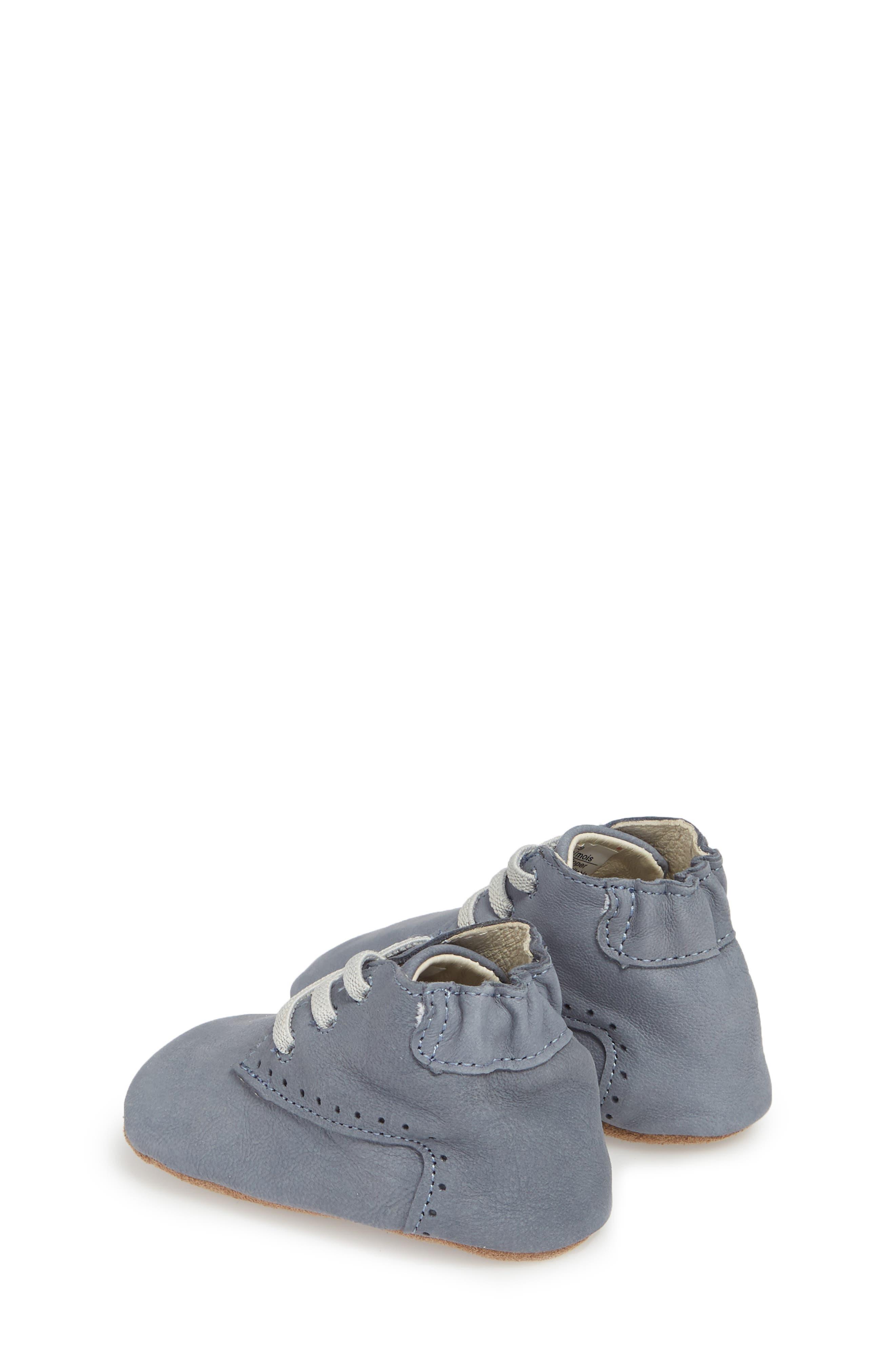 William Chukka Boot Crib Shoe,                             Alternate thumbnail 2, color,                             Blue