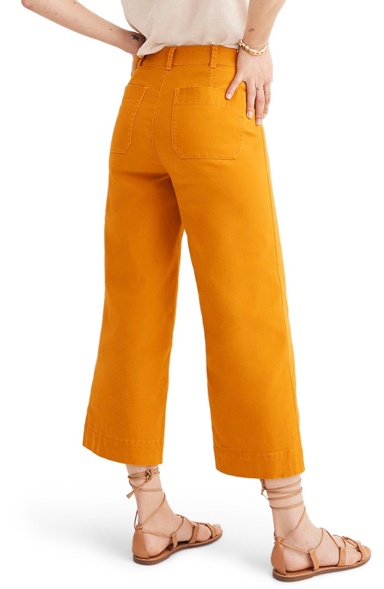 Alternate Image 2  - Madewell Emmett Wide Leg Crop Pants
