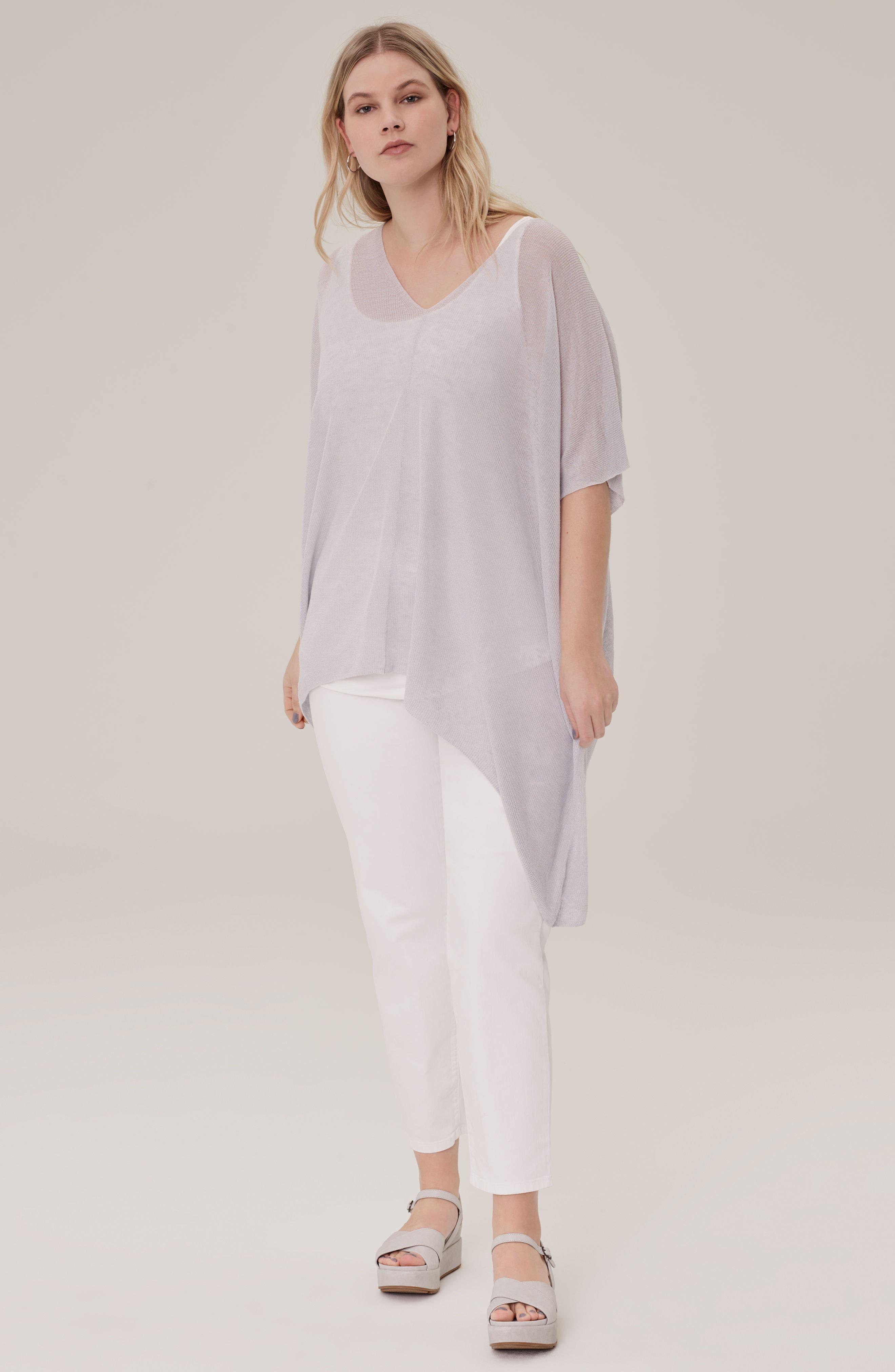 Stretch Organic Cotton Skinny Jeans,                             Alternate thumbnail 2, color,                             White