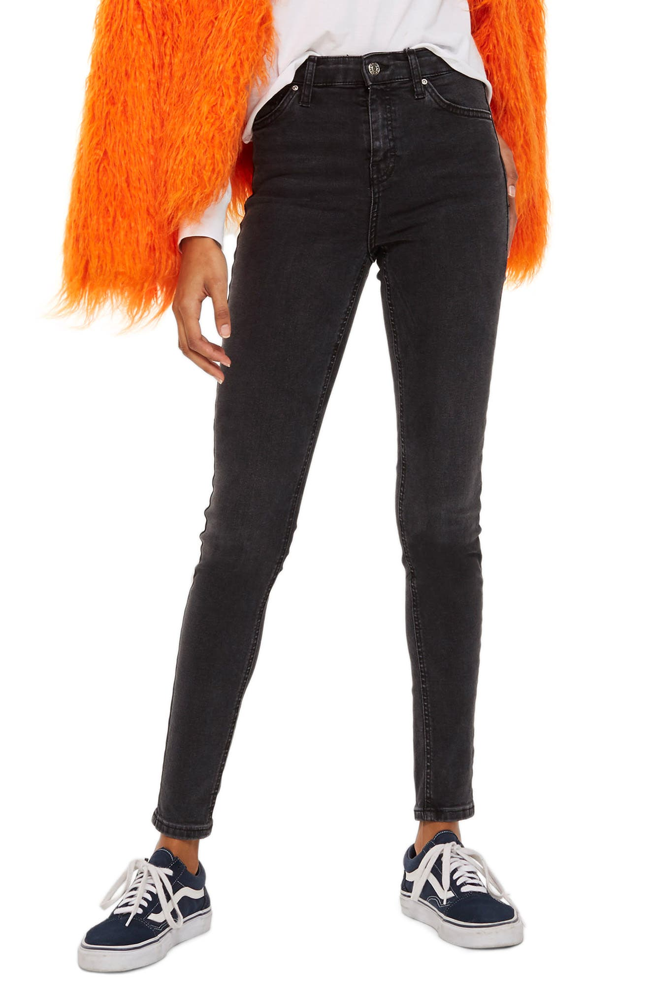 Jamie Jeans,                             Main thumbnail 1, color,                             Washed Black