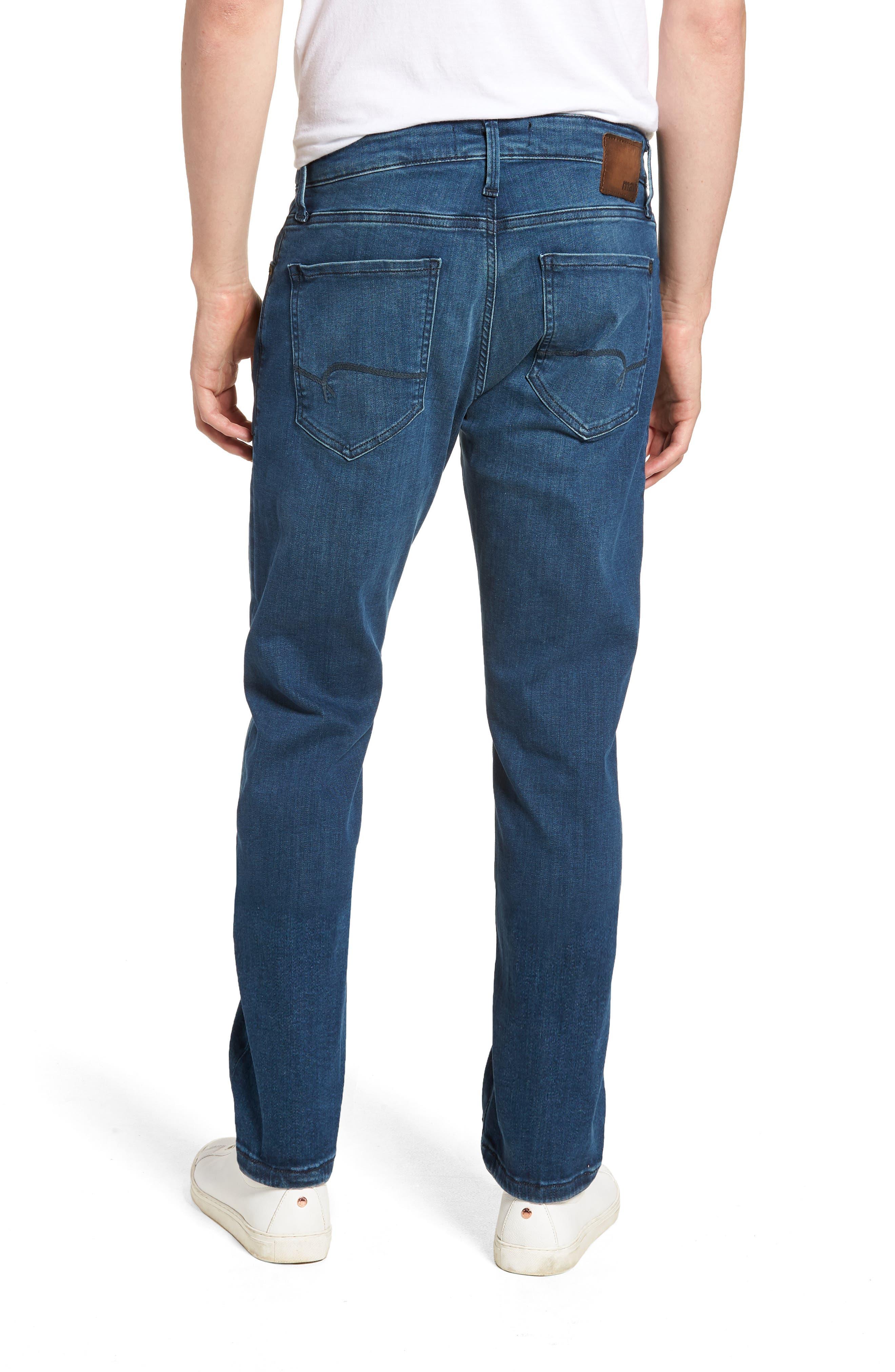 Marcus Slim Straight Leg Jeans,                             Alternate thumbnail 2, color,                             Mid Tonal Williamsburg