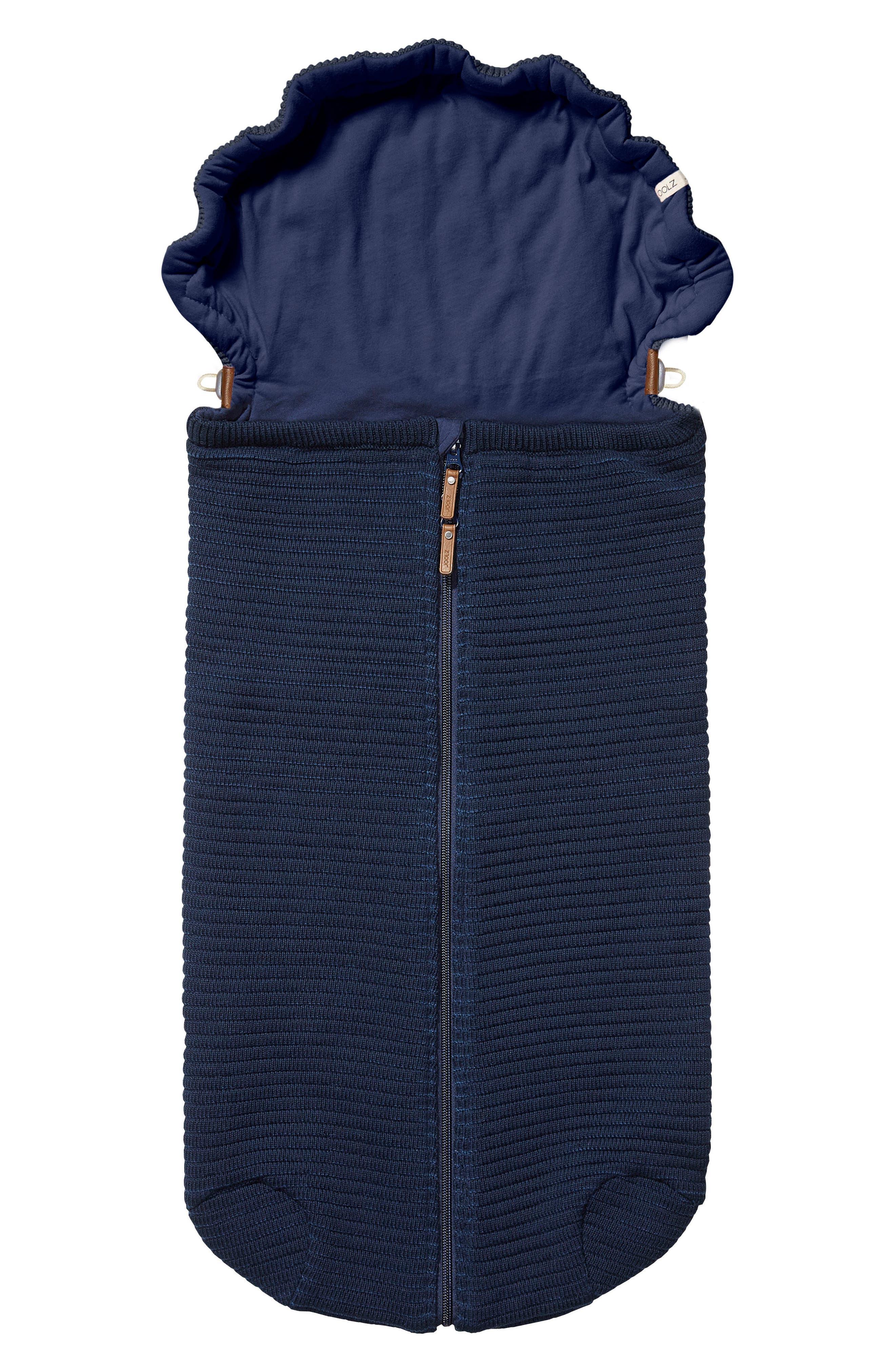 Essentials Ribbed Organic Cotton Nest,                         Main,                         color, Blue