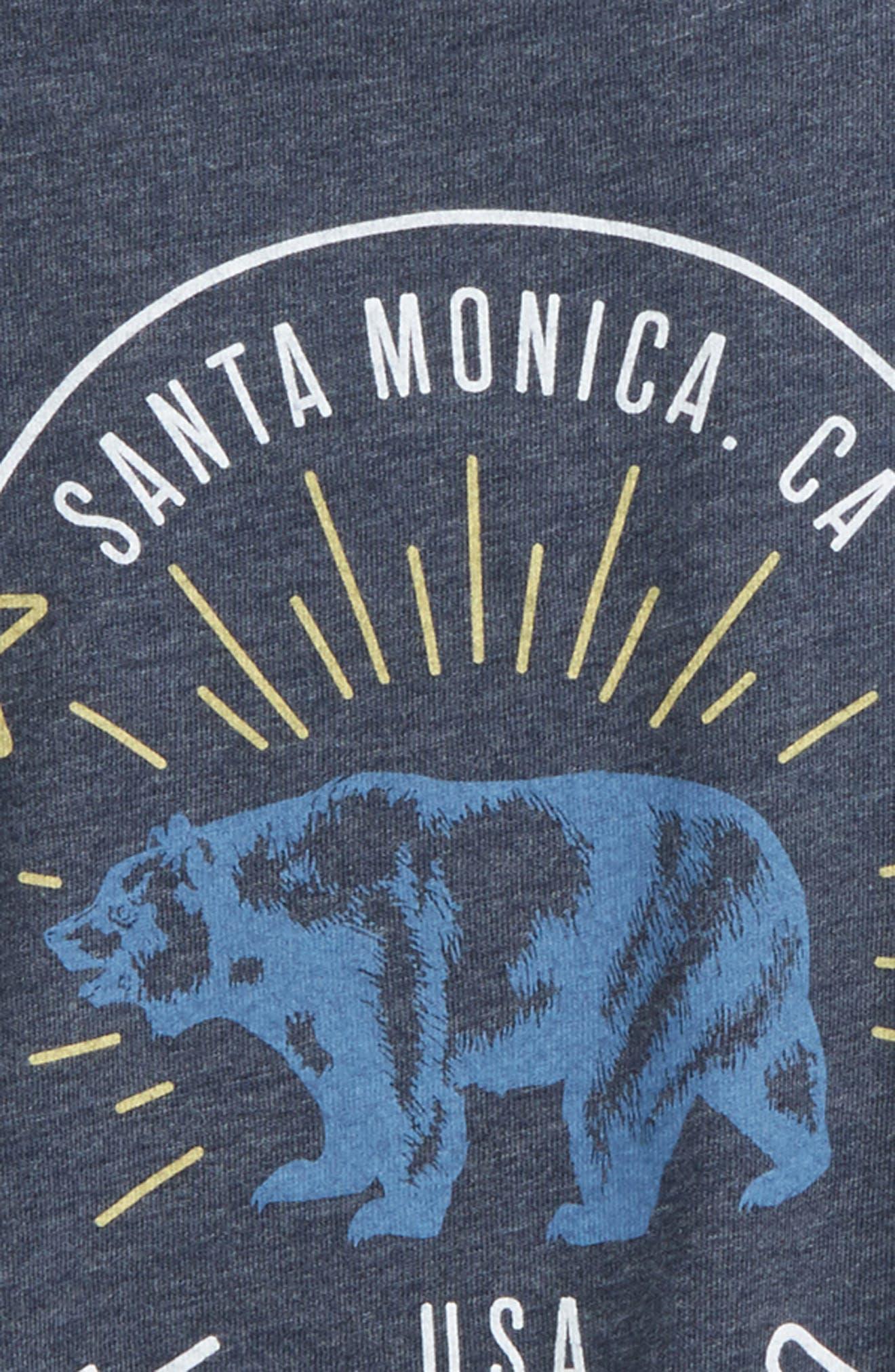 Bear Graphic T-Shirt,                             Alternate thumbnail 3, color,                             Twilight