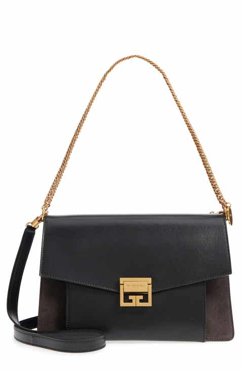 ed04013ddb Givenchy Medium GV3 Leather Crossbody Bag
