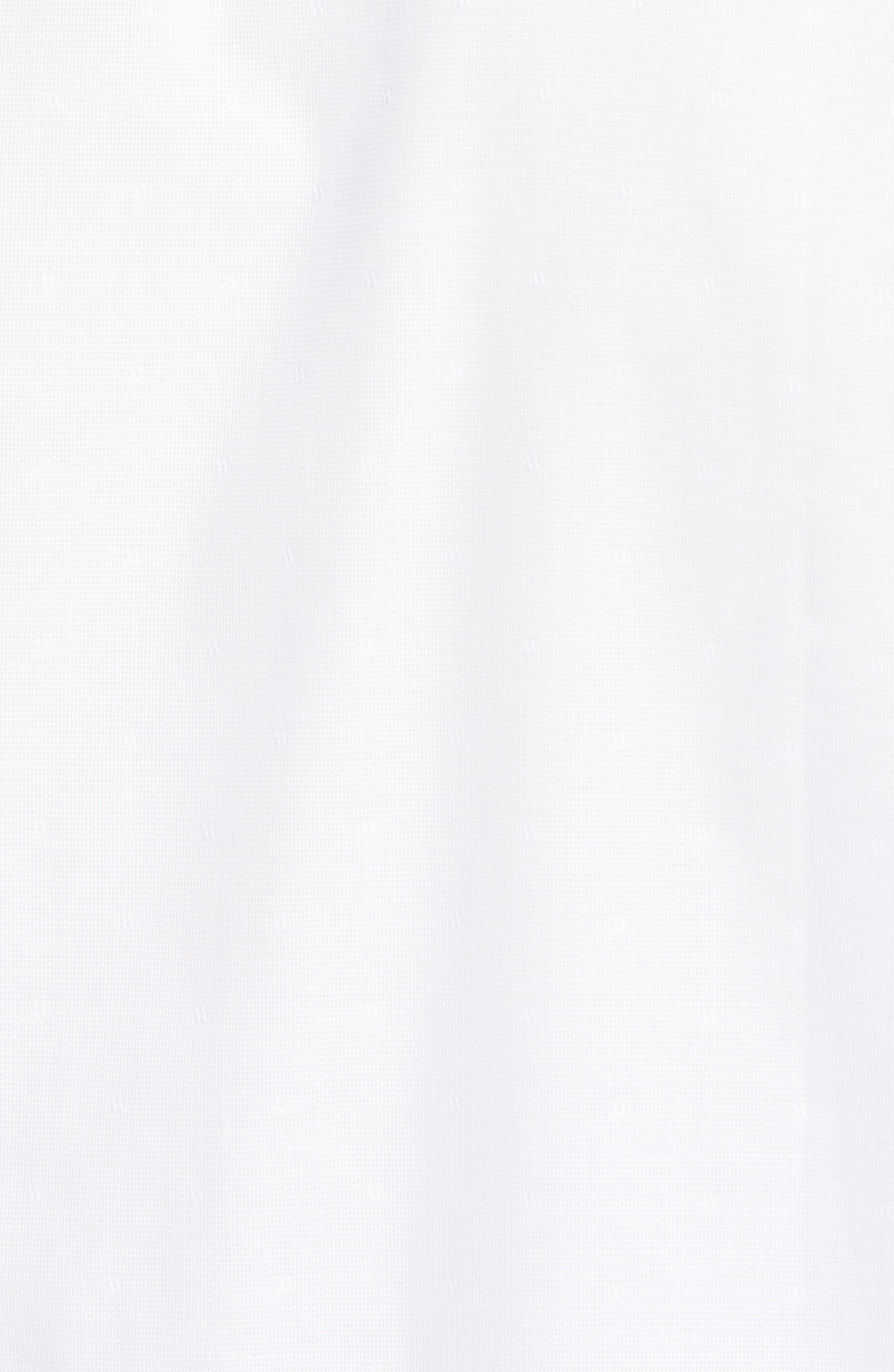 Abbott Regular Fit Sport Shirt,                             Alternate thumbnail 5, color,                             White