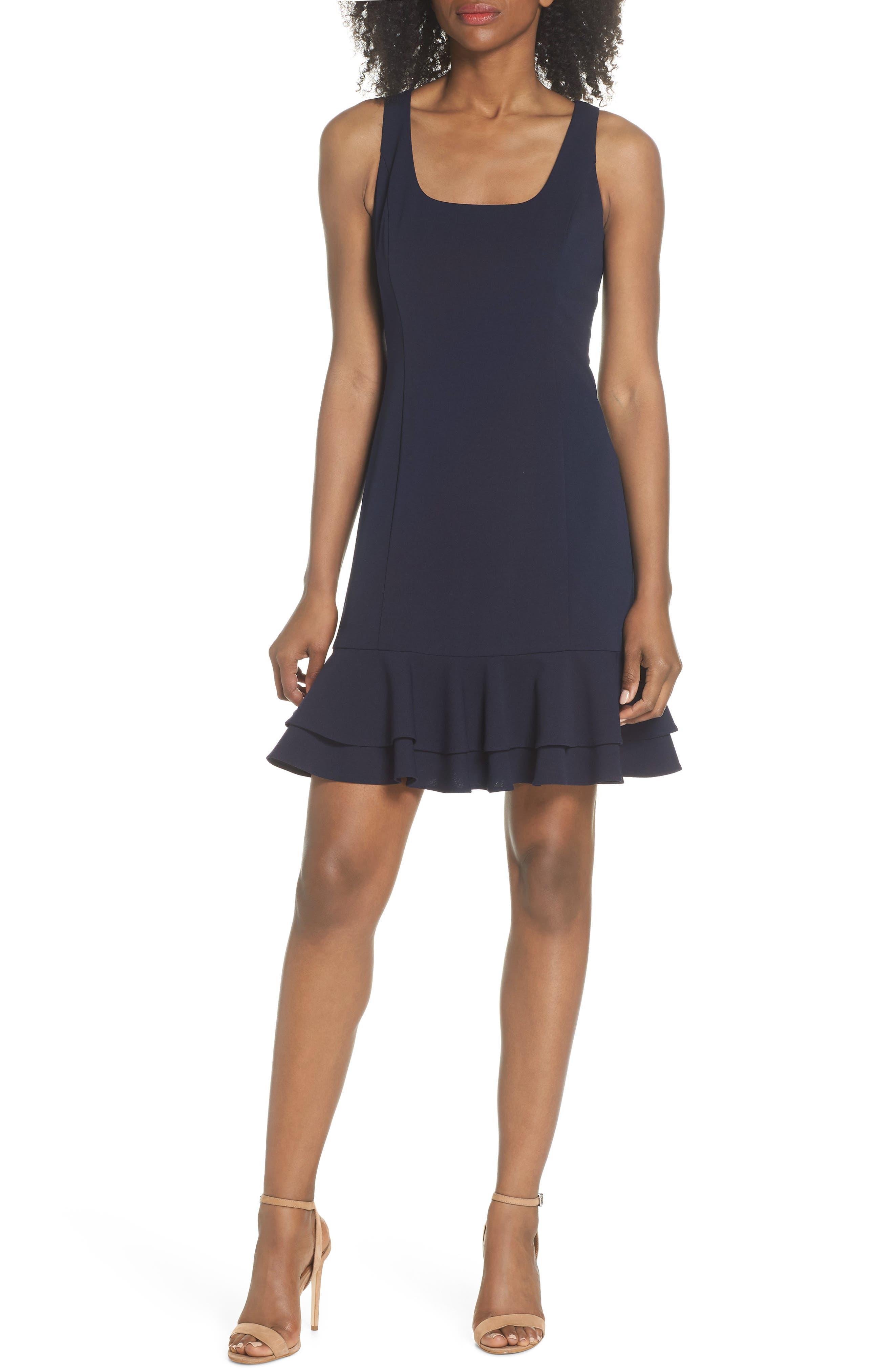 Chelsea28 Ruffle Hem Dress (Regular, Petite & Plus Size)