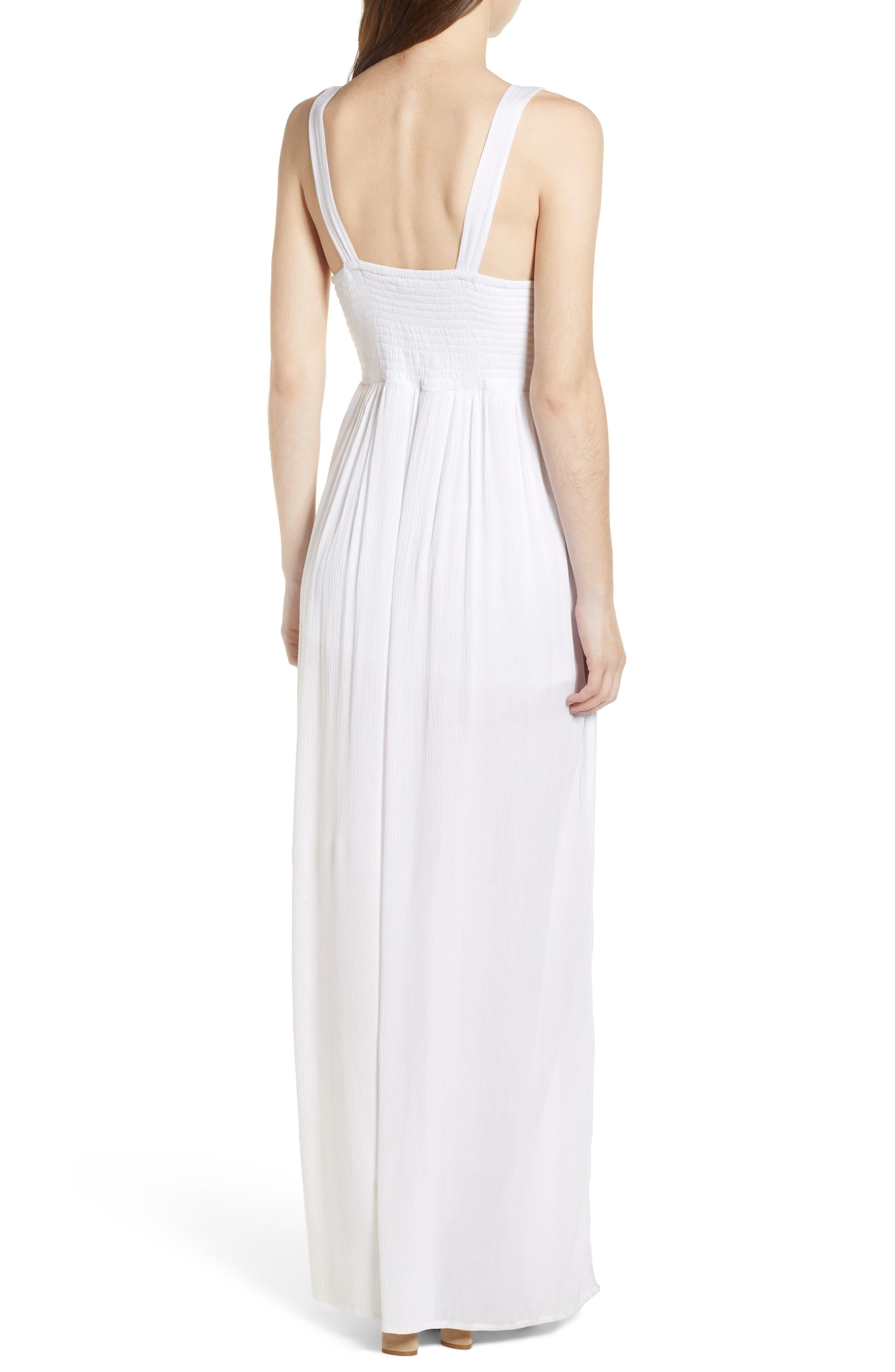 Bishop + Young Bora Bora Maxi Dress,                             Alternate thumbnail 2, color,                             White