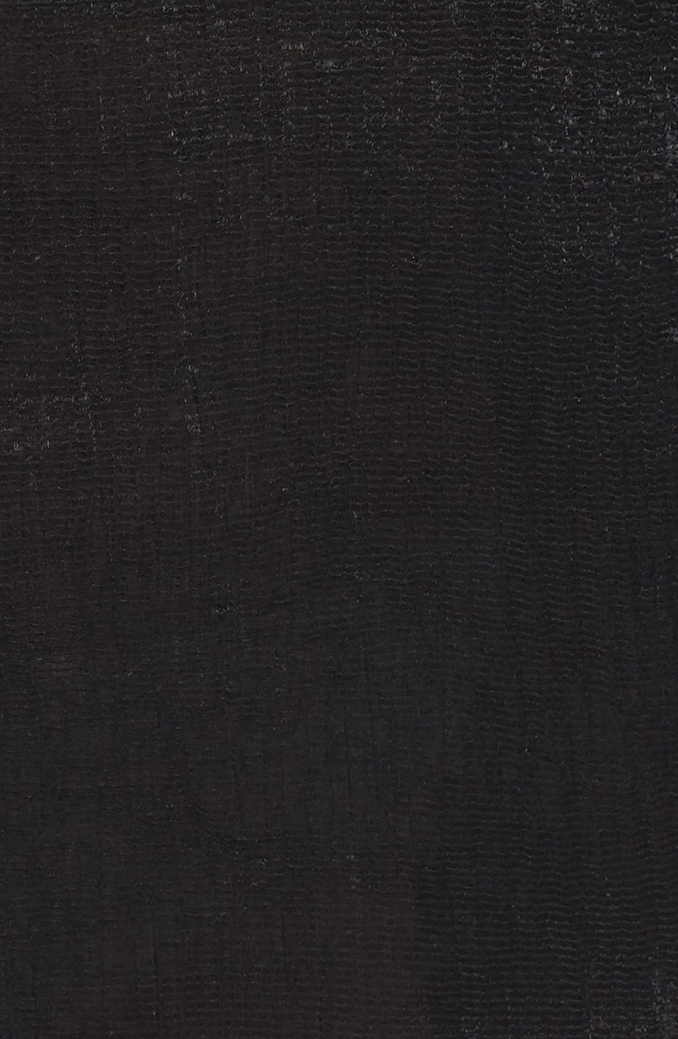 Alternate Image 5  - LOST INK Tassel Trim Off the Shoulder Romper (Plus Size)