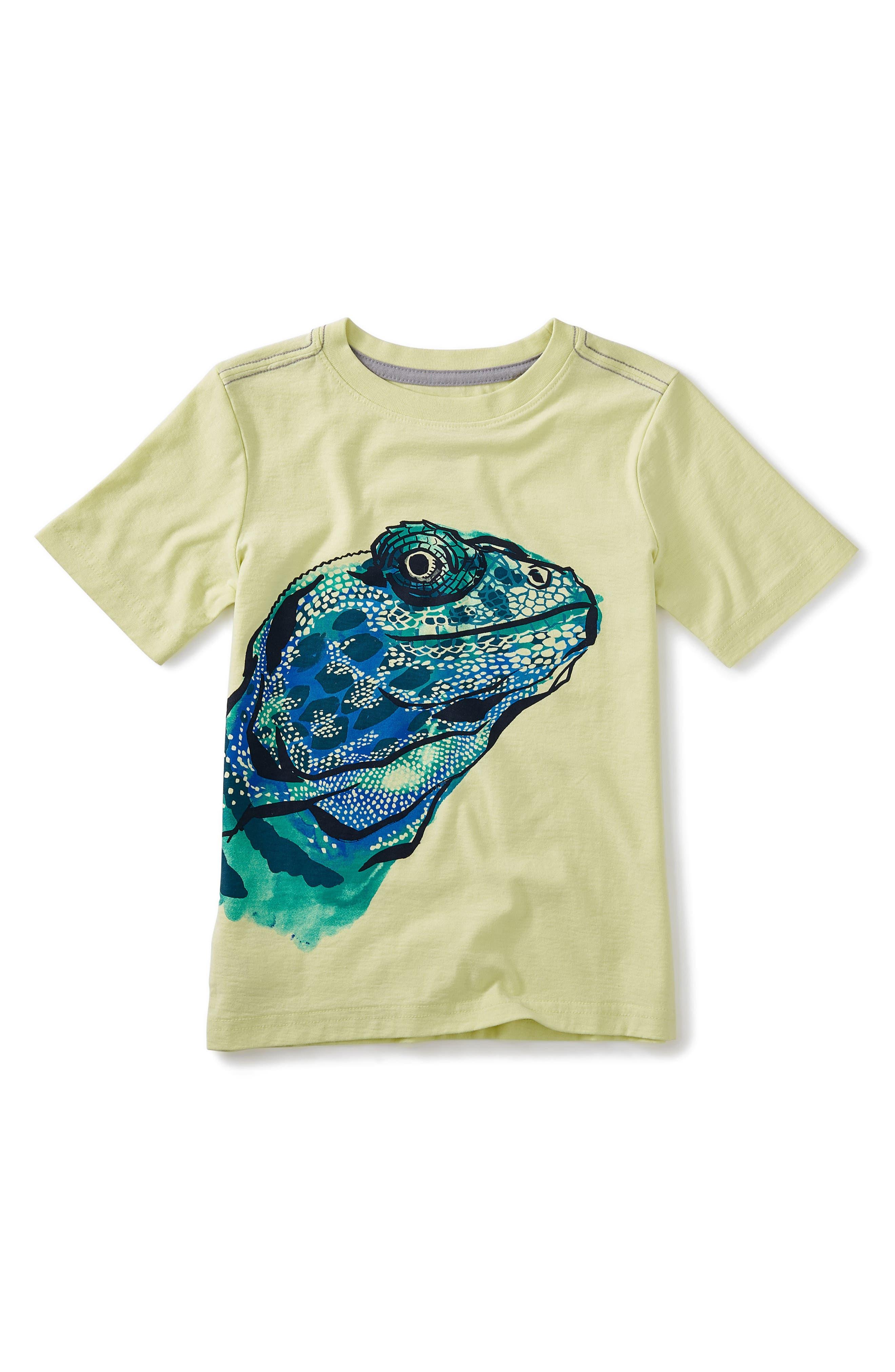 Tea Collection Lizard Graphic T-Shirt (Toddler Boys, Little Boys & Big Boys)