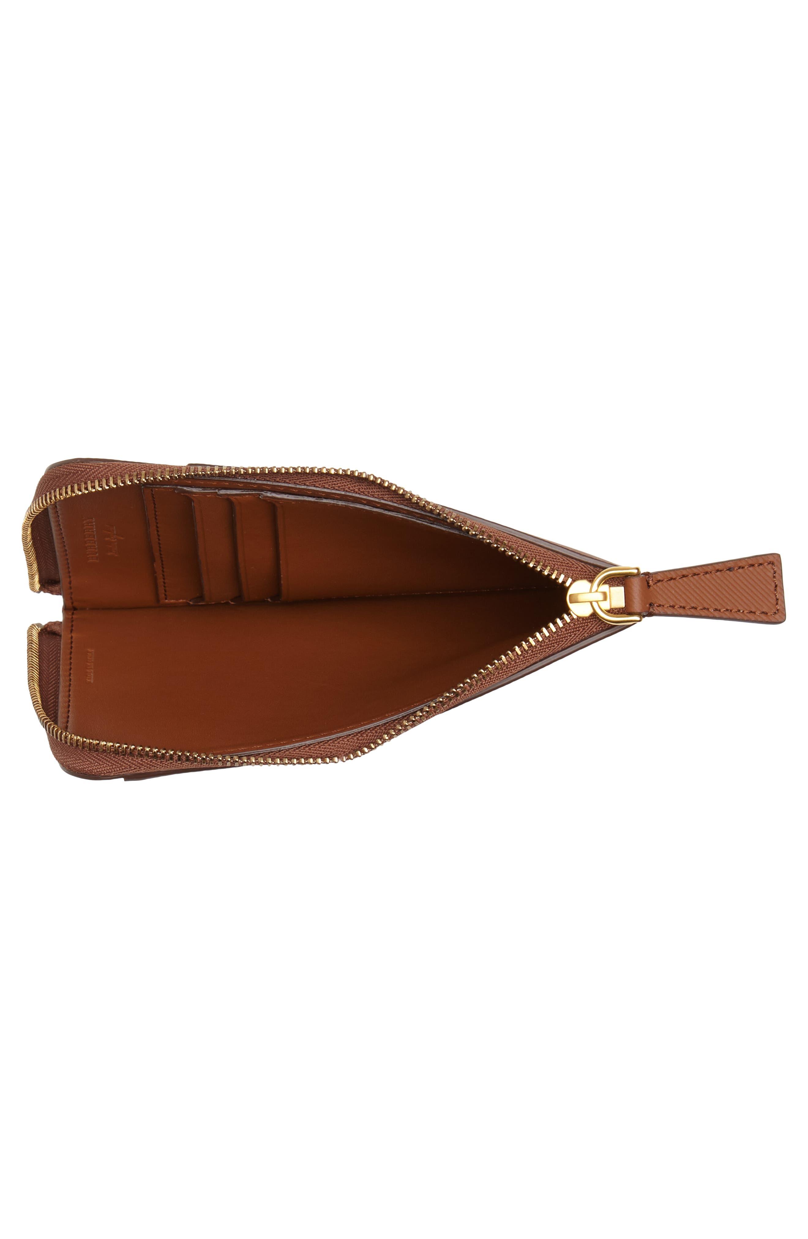 Alternate Image 3  - Burberry Zain Leather Passport Case