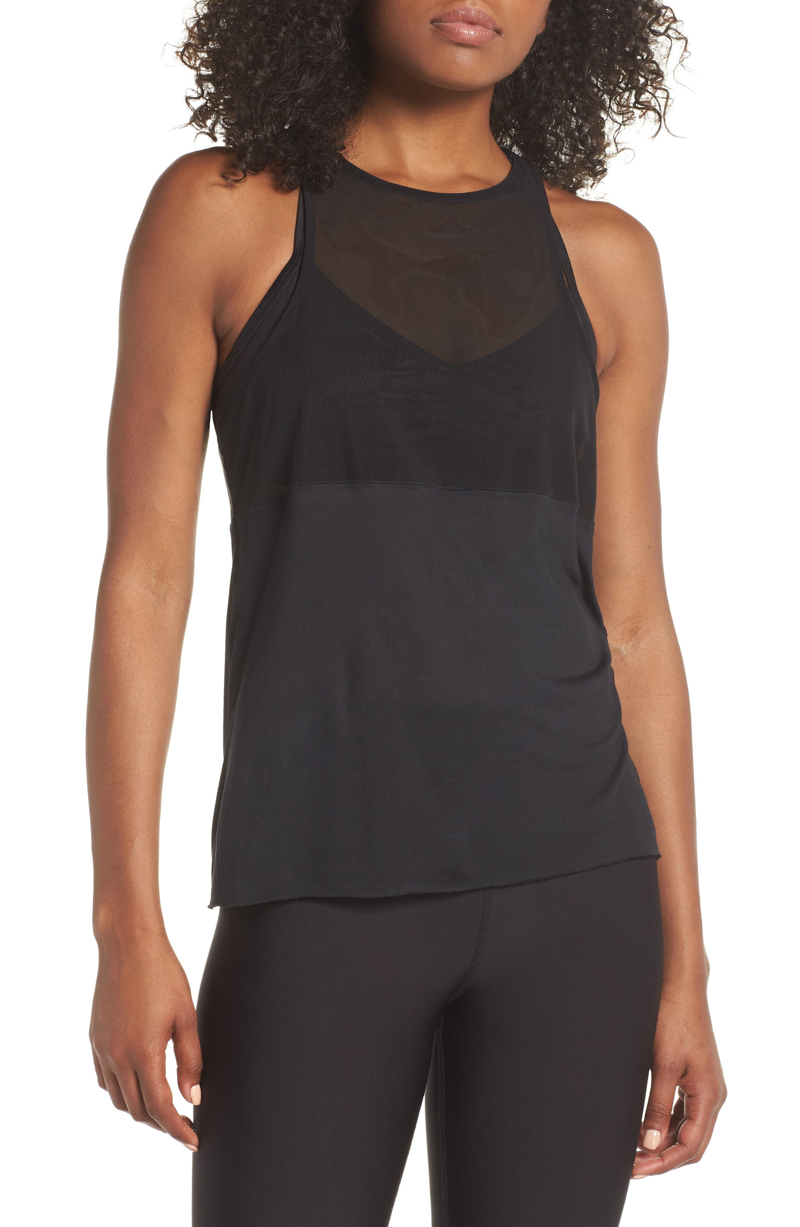 Tide Tank,                         Main,                         color, Black