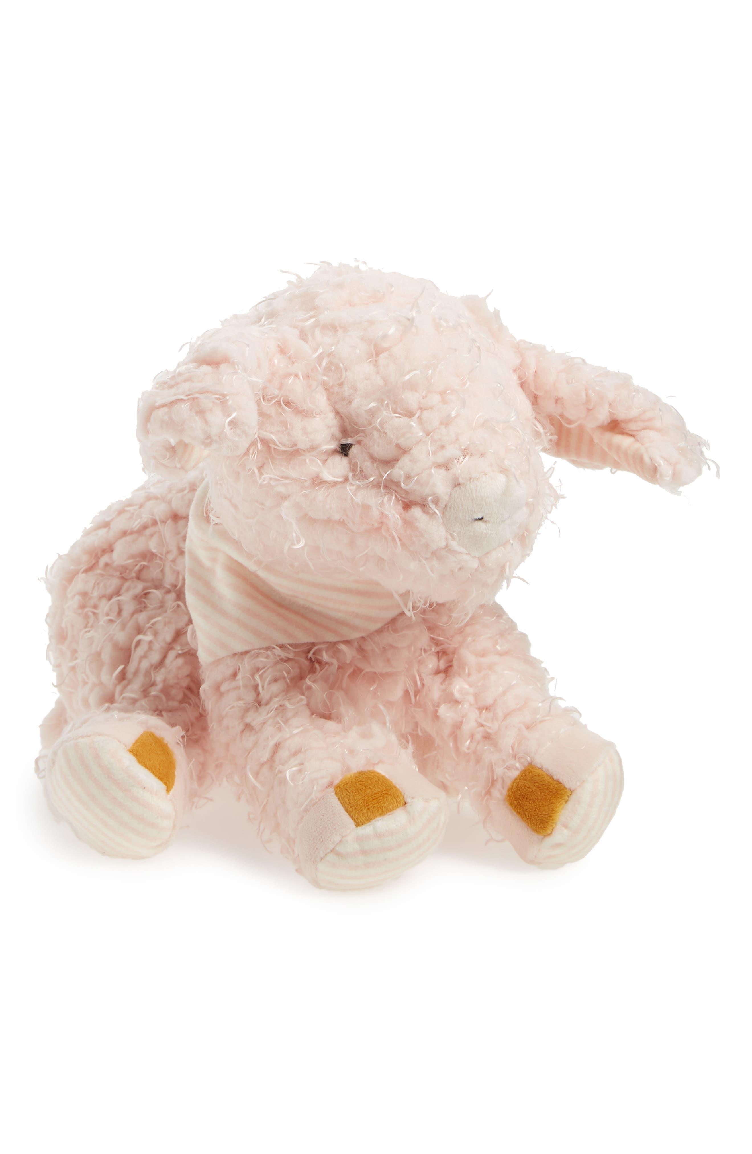 Hammie Pig Stuffed Animal,                         Main,                         color, Peony Pink