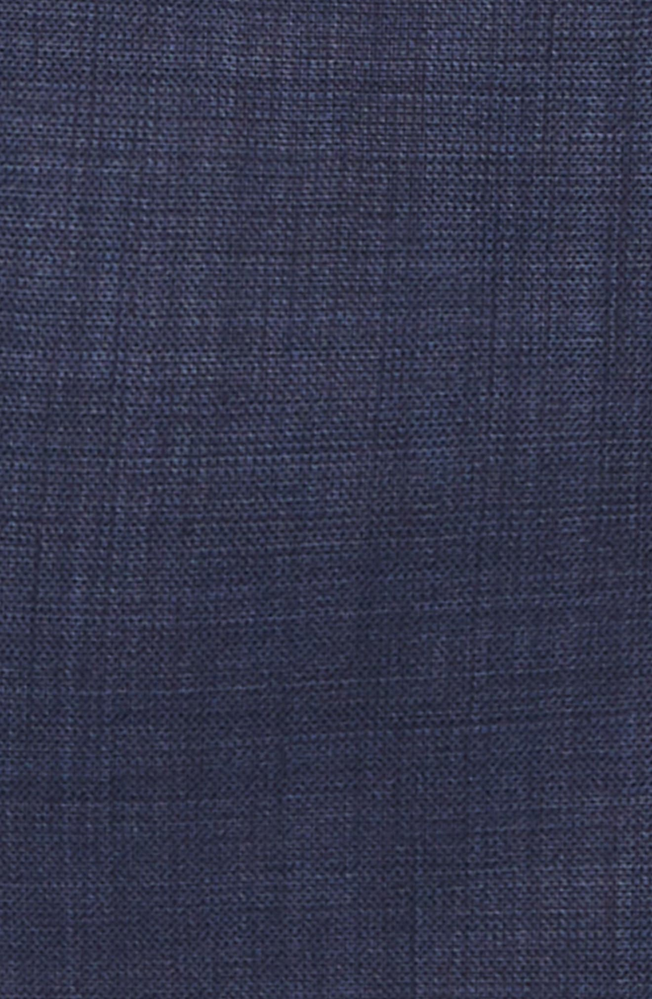 Two-Piece Wool Suit,                             Alternate thumbnail 2, color,                             Navy