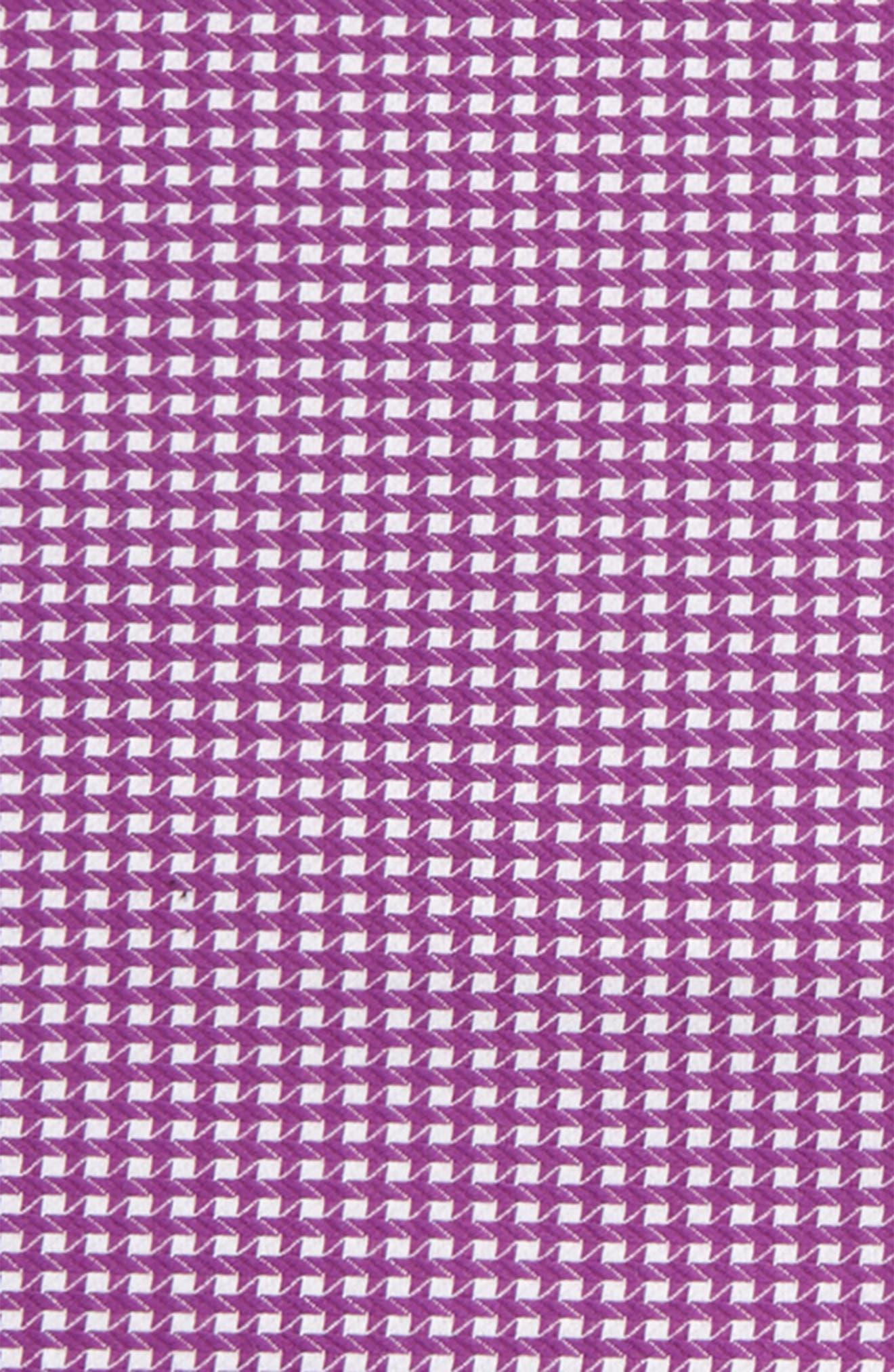 The Hound Cotton Pocket Square,                             Alternate thumbnail 3, color,                             Purple