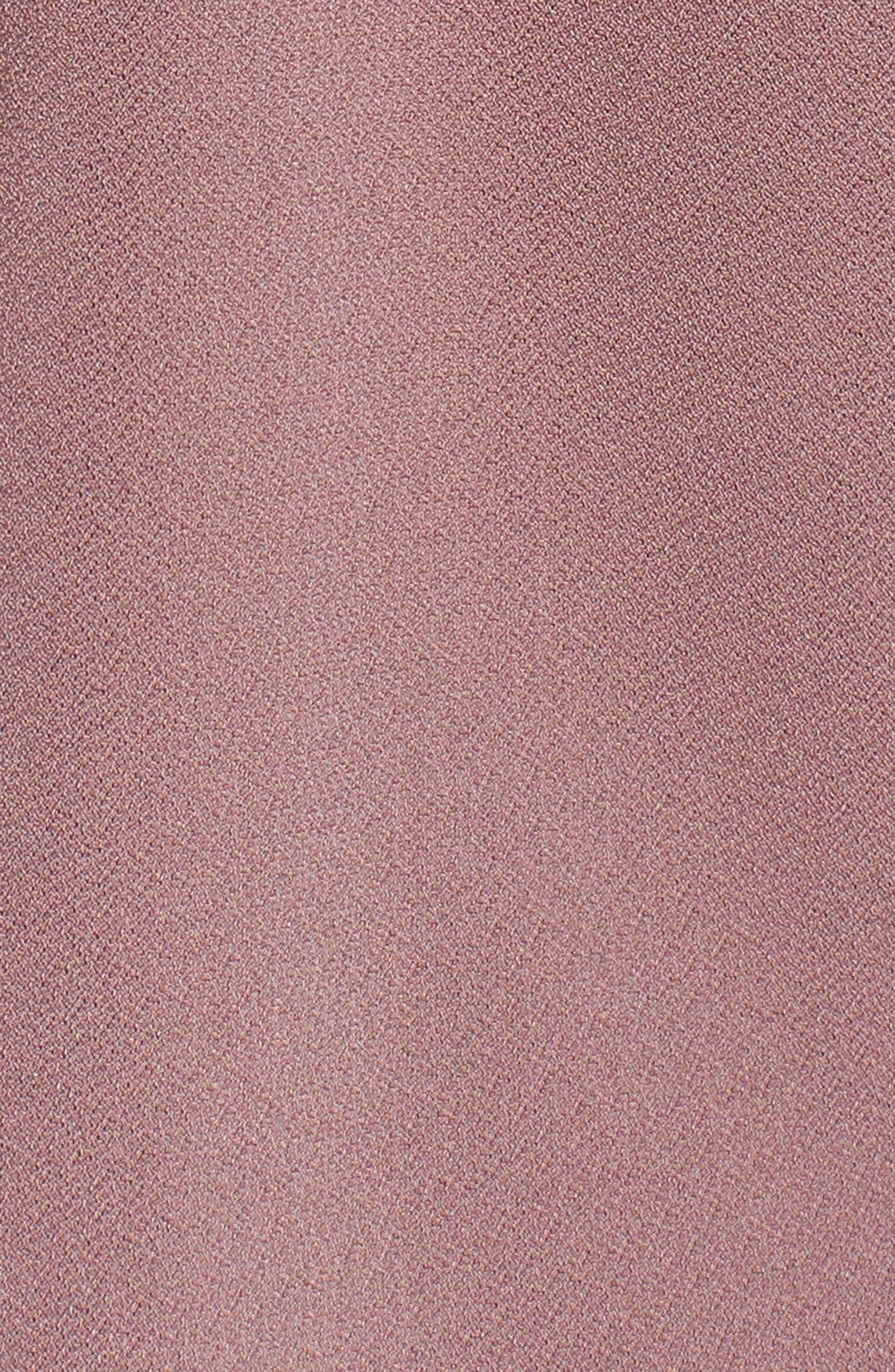 Faux Wrap Tank,                             Alternate thumbnail 6, color,                             Purple Taupe