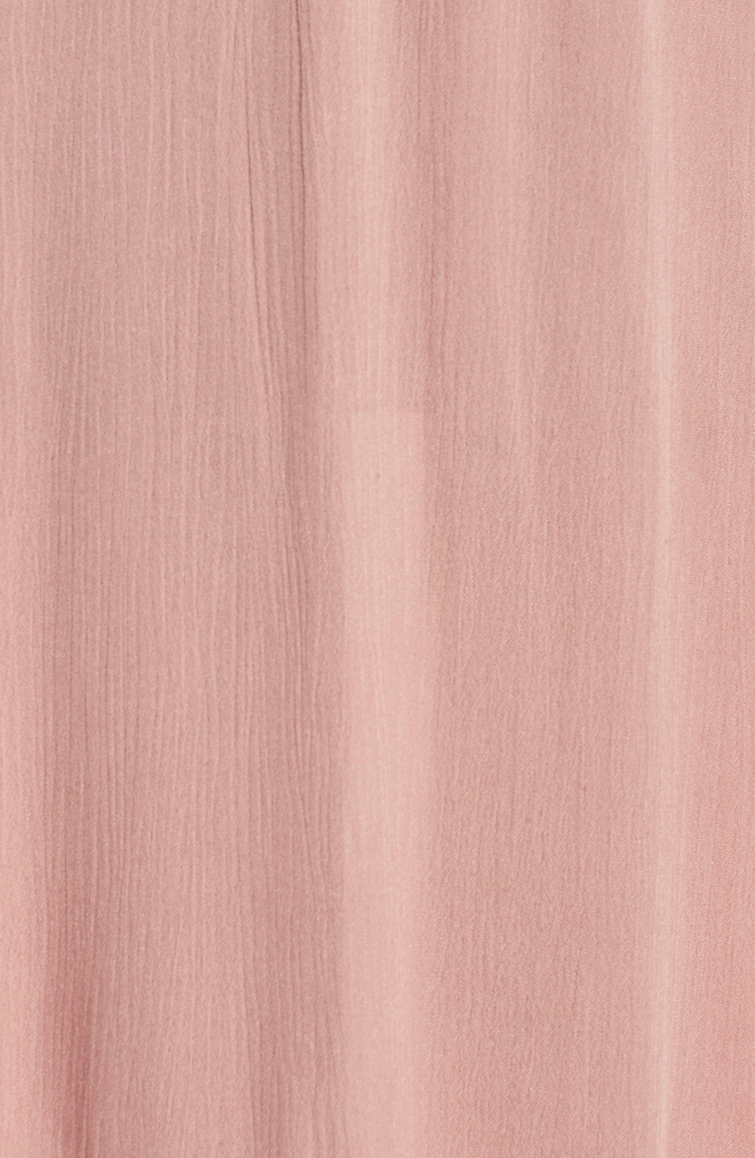 Surrey Maxi Dress,                             Alternate thumbnail 3, color,                             Nude Rose