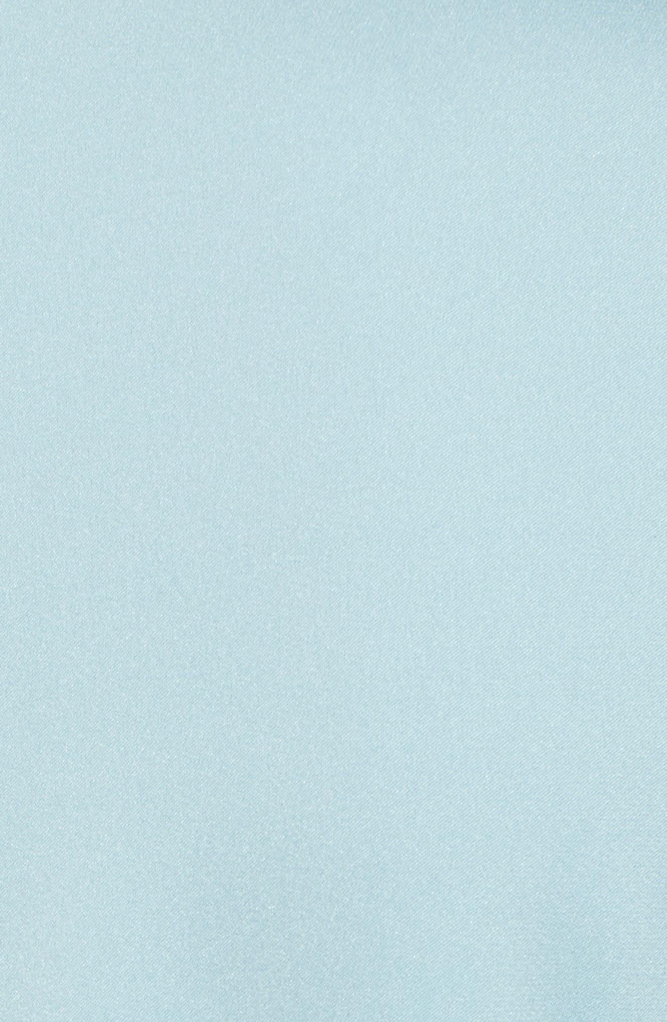 Insina Stretch Silk Blouse,                             Alternate thumbnail 5, color,                             Lagoon Blue