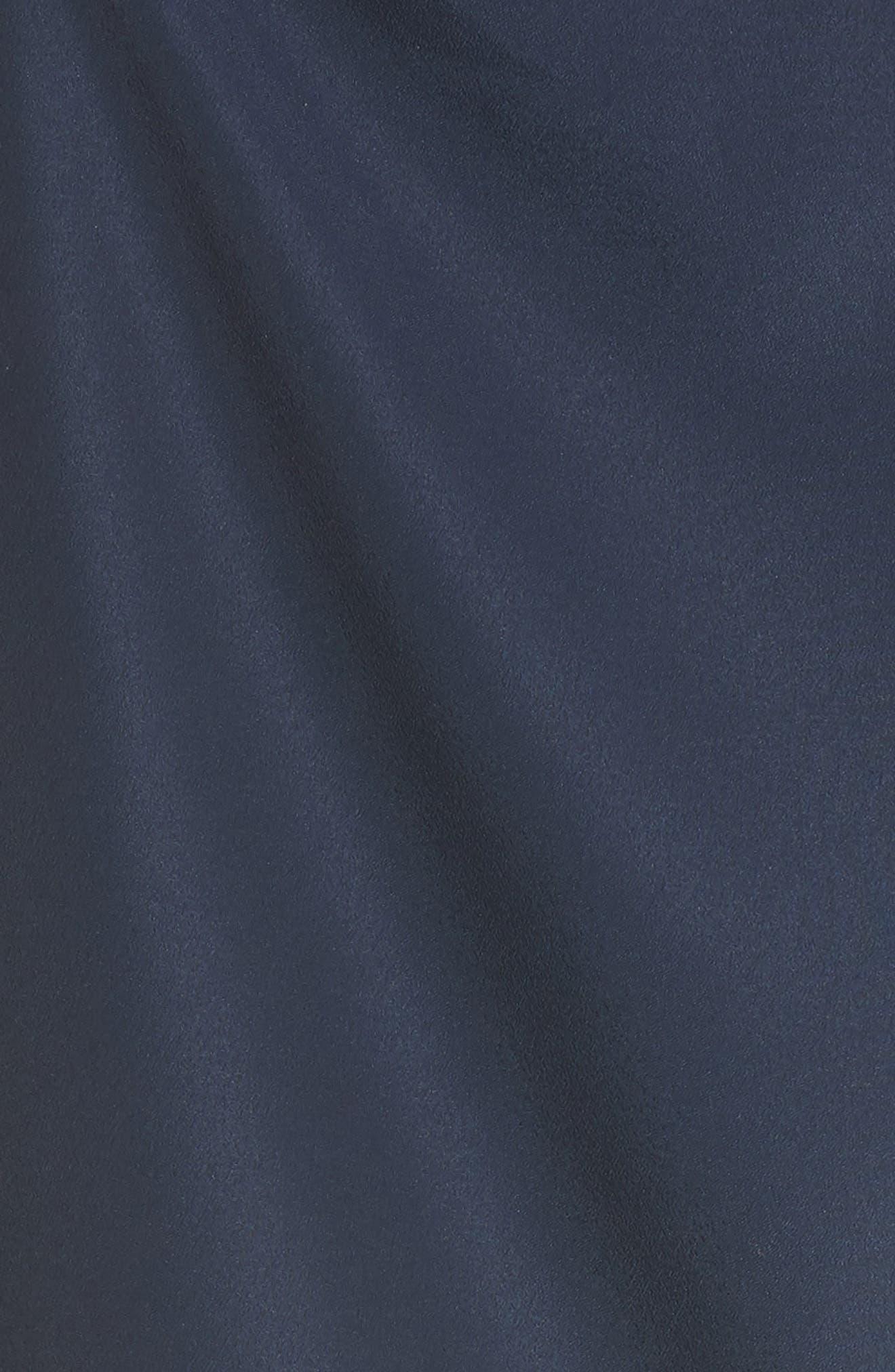Edyte Asymmetrical Dress,                             Alternate thumbnail 4, color,                             Dark Navy