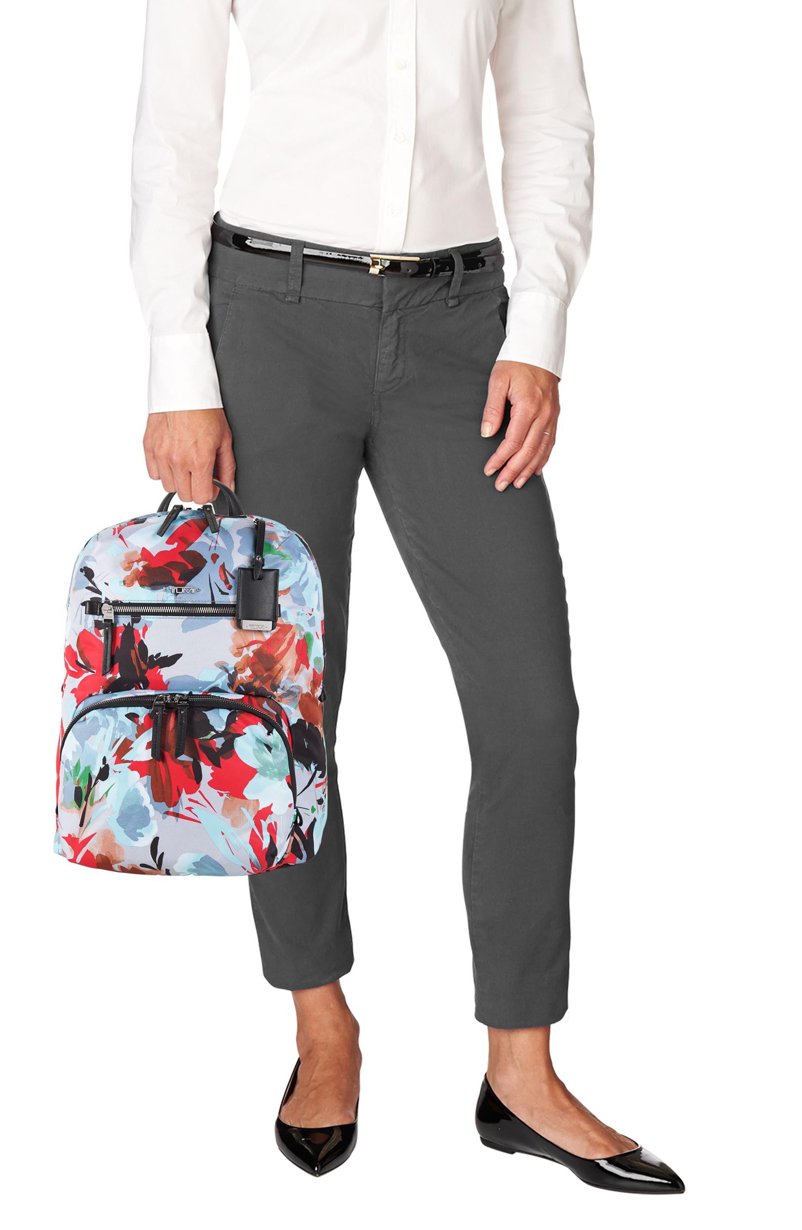 Voyageur Halle Nylon Backpack,                             Alternate thumbnail 2, color,                             Pacific Floral