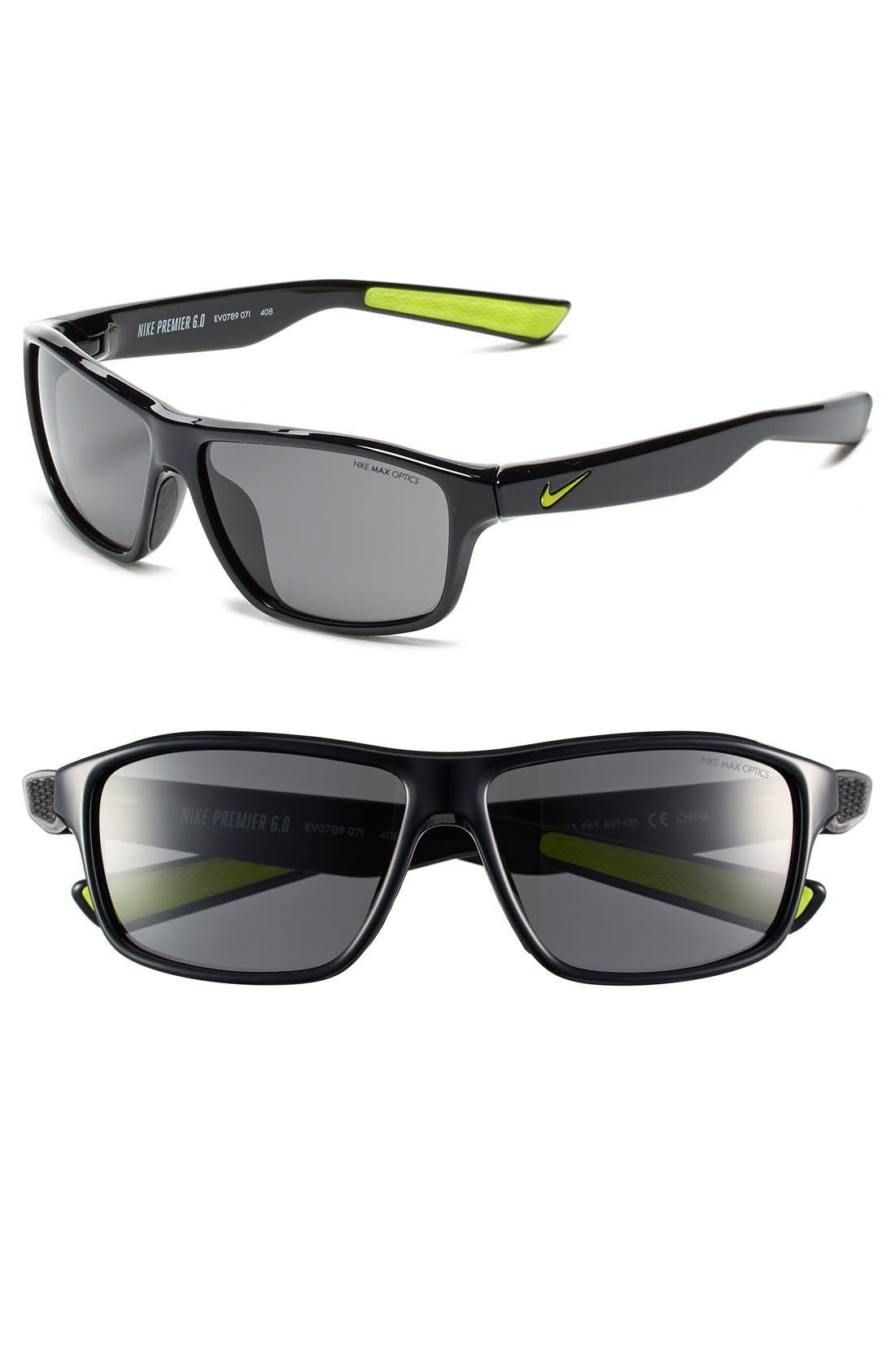 Alternate Image 1 Selected - Nike 59mm 'Premier 6.0' Performance Sunglasses