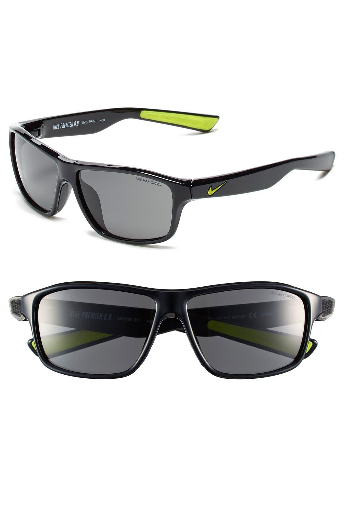 Nike 59mm 'Premier 6.0' Performance Sunglasses