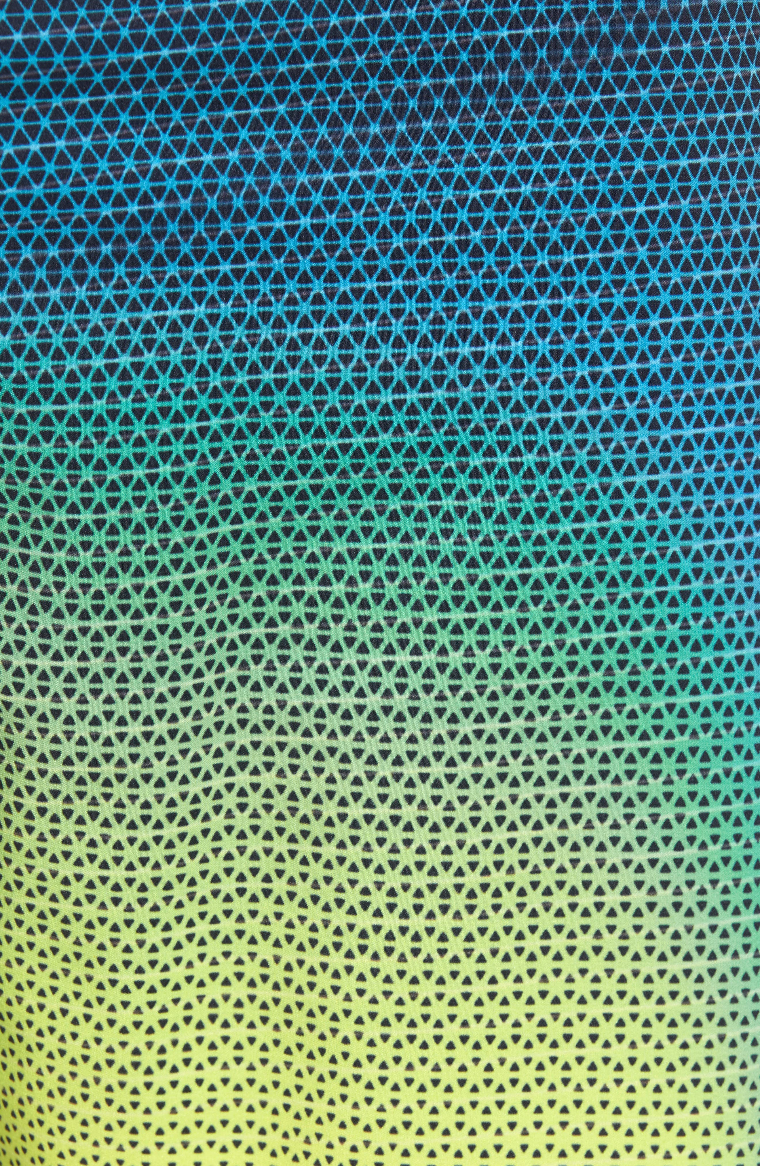 Hyperfreak Prizma Board Shorts,                             Alternate thumbnail 5, color,                             Ocean