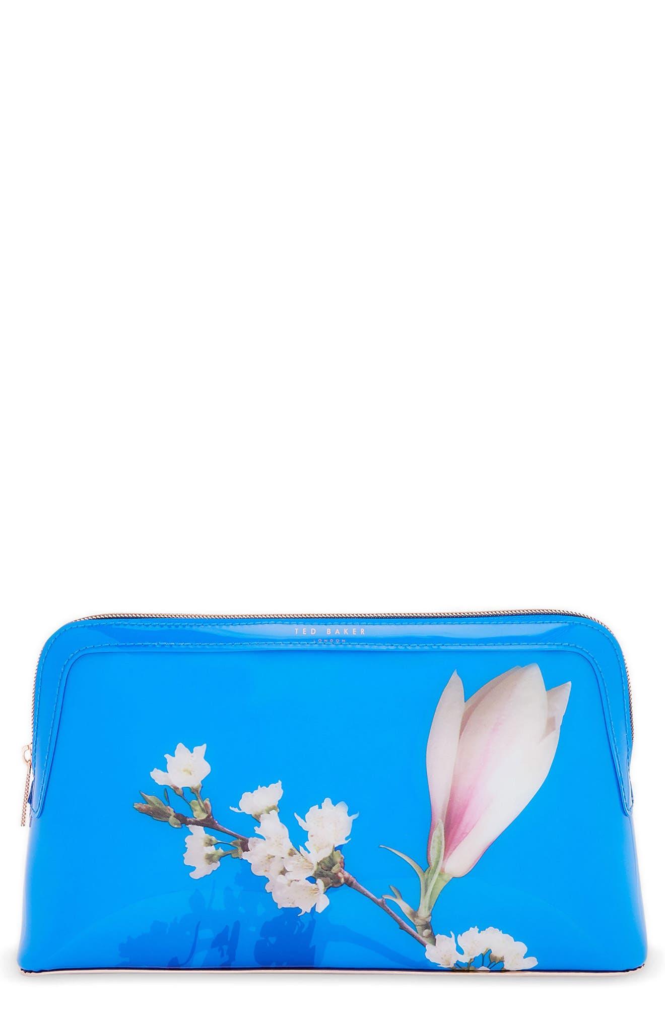 Daisyy – Harmony Wash Bag,                             Main thumbnail 1, color,                             Bright Blue
