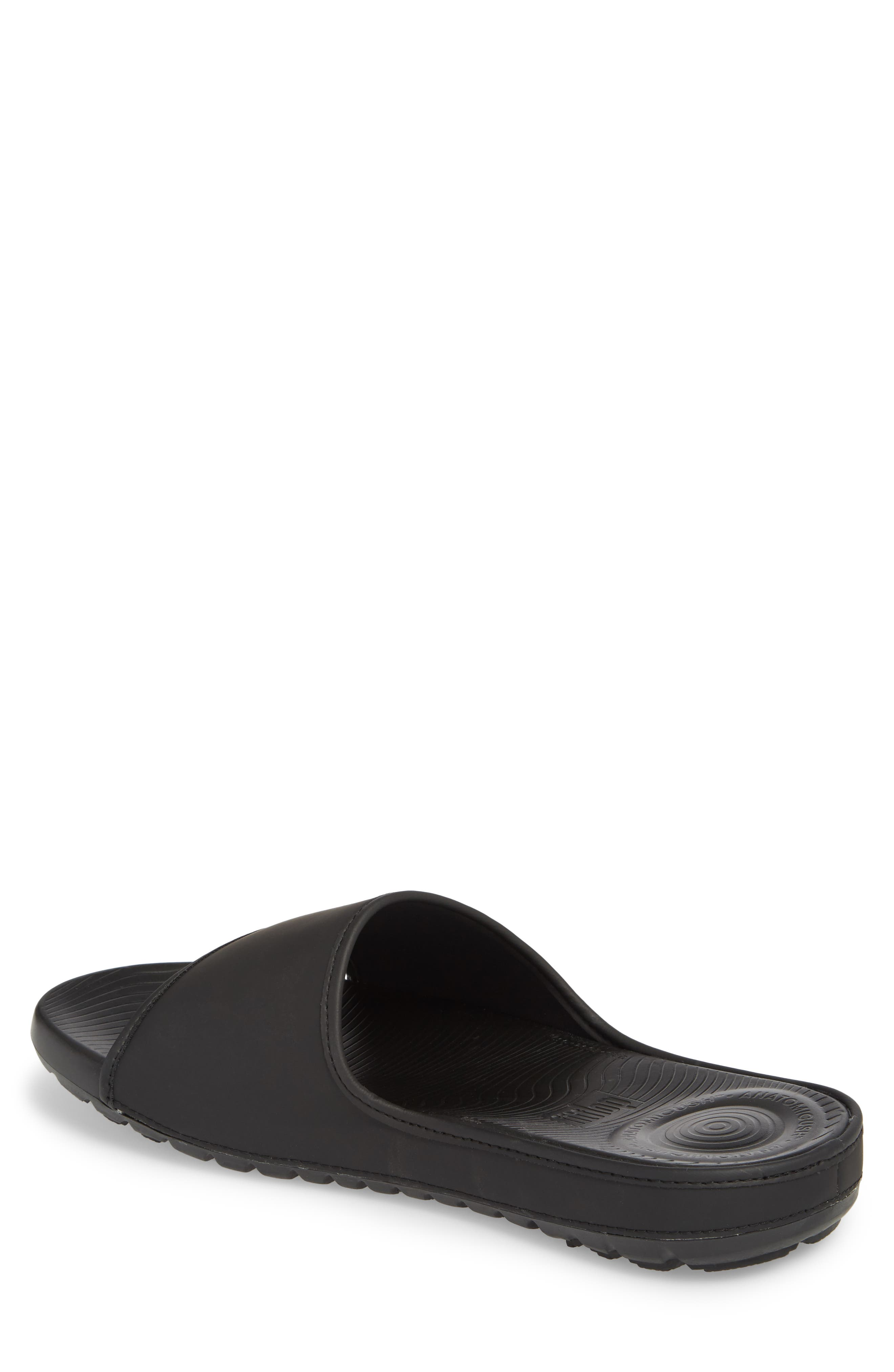 Lido Sport Slide,                             Alternate thumbnail 2, color,                             Black
