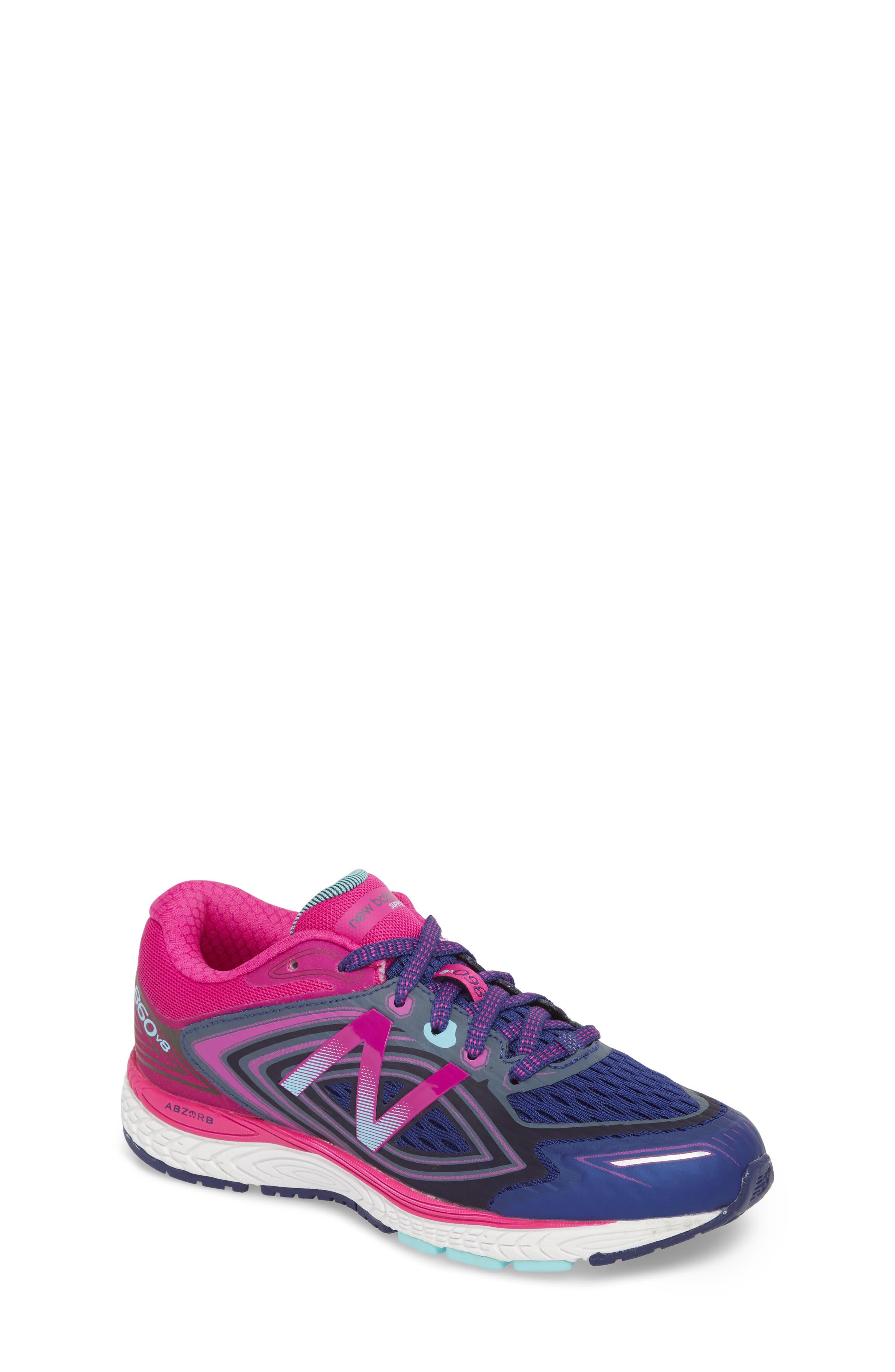 860v8 Sneaker,                             Main thumbnail 1, color,                             Navy