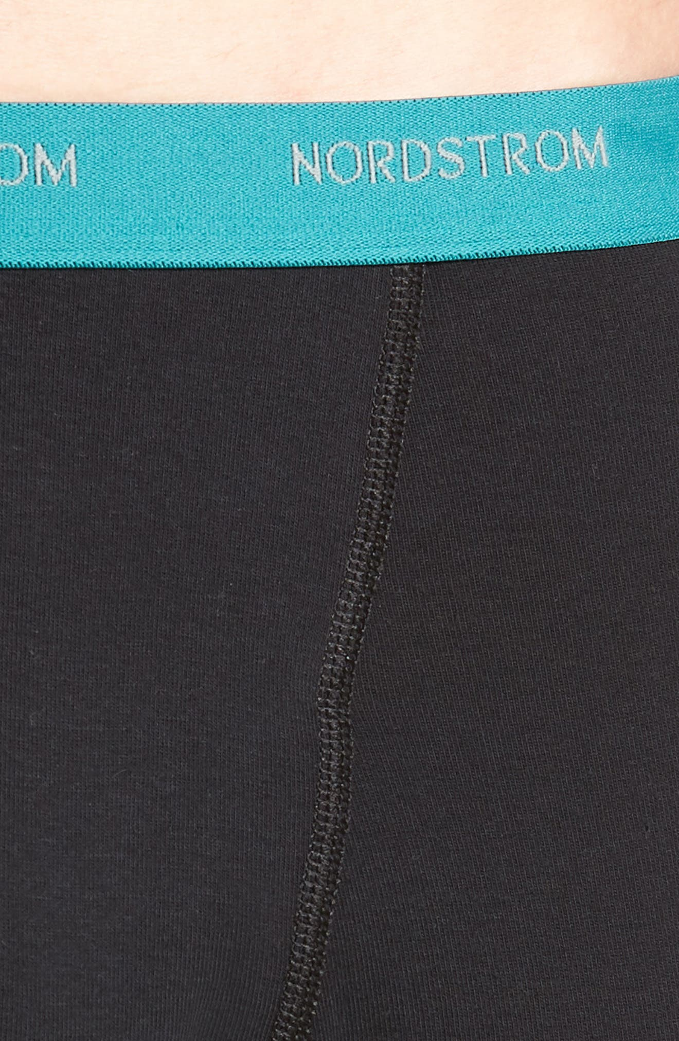 3-Pack Supima<sup>®</sup> Cotton Boxer Briefs,                             Alternate thumbnail 6, color,                             Black- Teal/ Green/ Lime