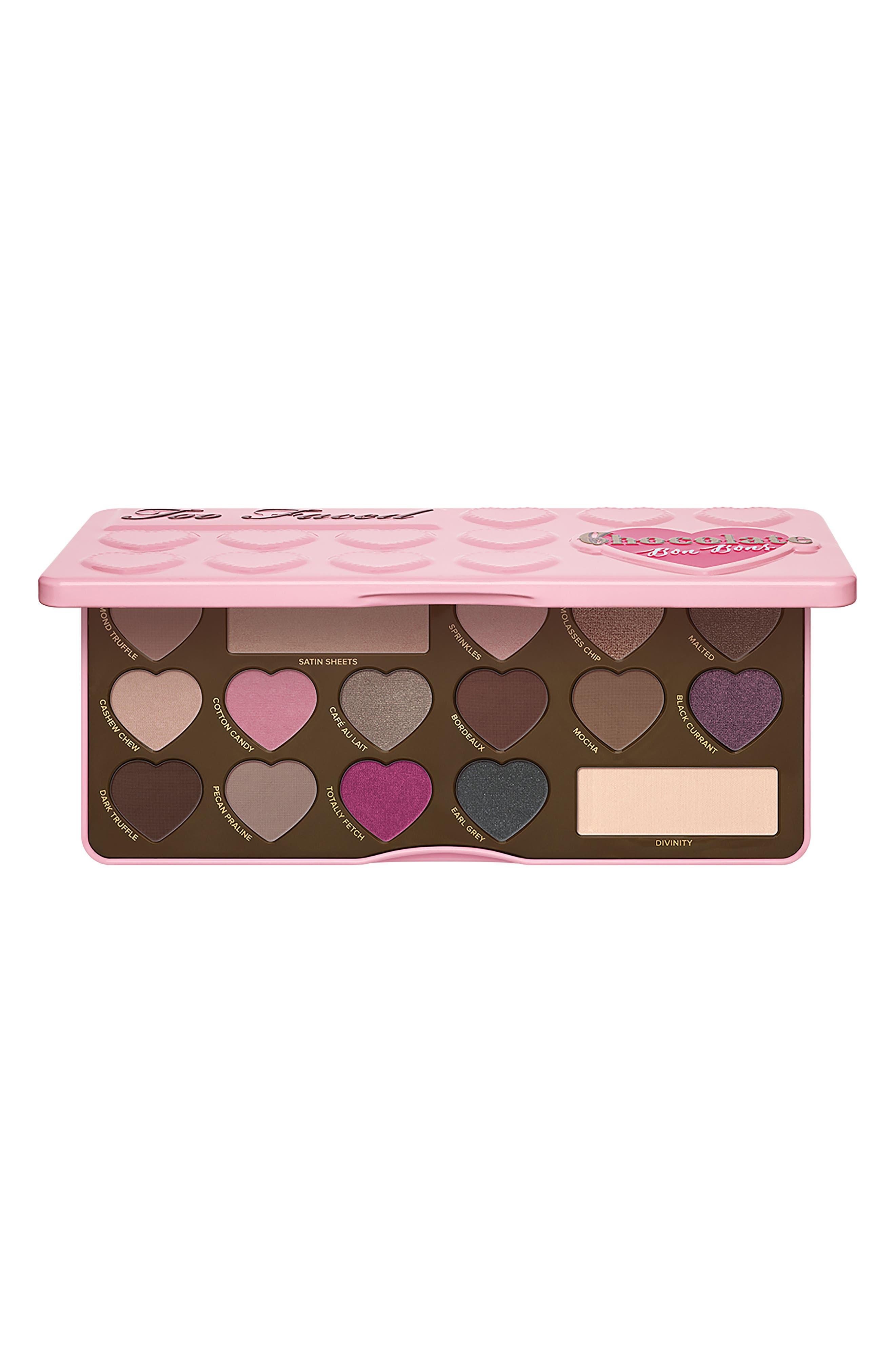 Chocolate Bon Bons Eyeshadow Palette,                             Main thumbnail 1, color,                             No Color