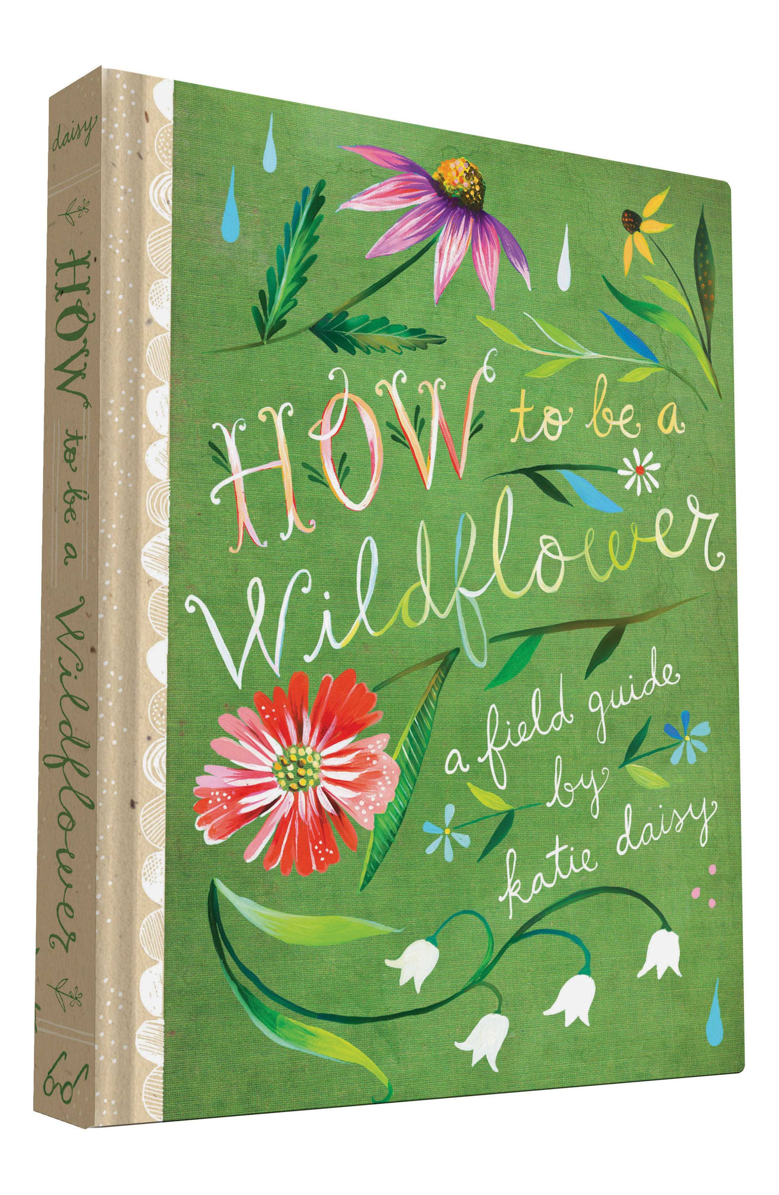 How To Be A Wildflower Book,                             Alternate thumbnail 5, color,                             Green