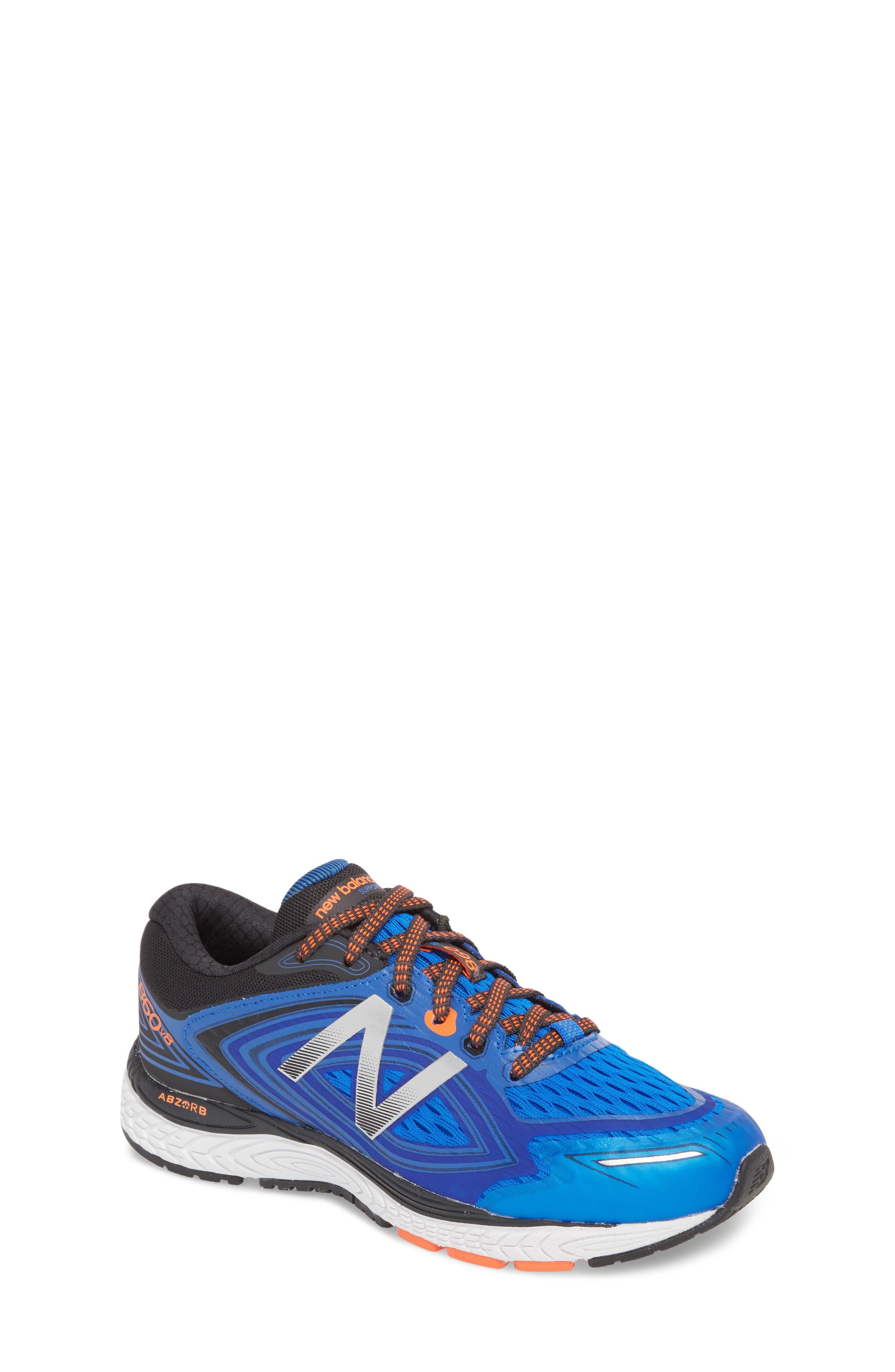 860v8 Sneaker,                             Main thumbnail 1, color,                             Navy/ Grey