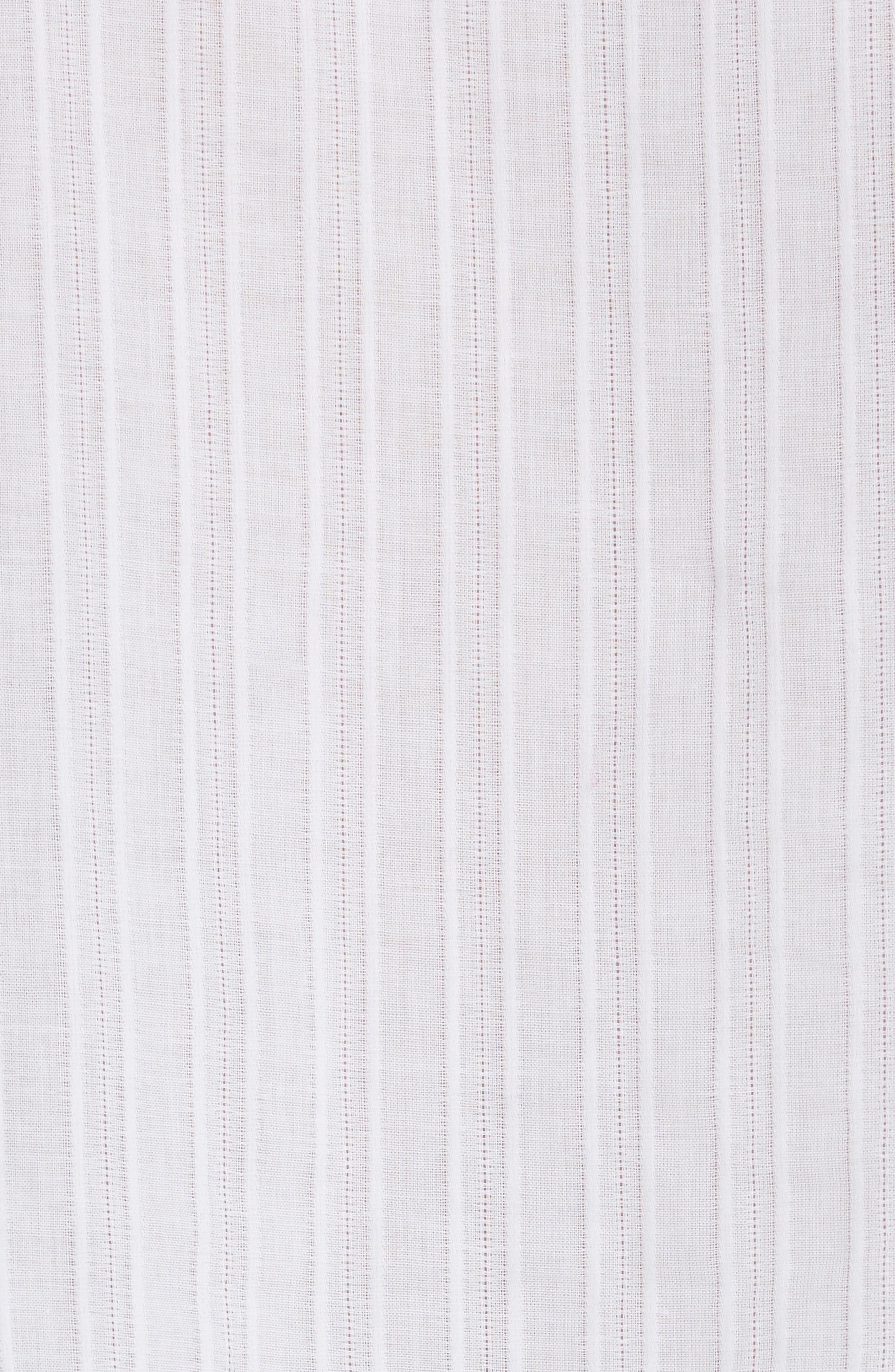 mosaic embroidered tassel top,                             Alternate thumbnail 5, color,                             Fresh White