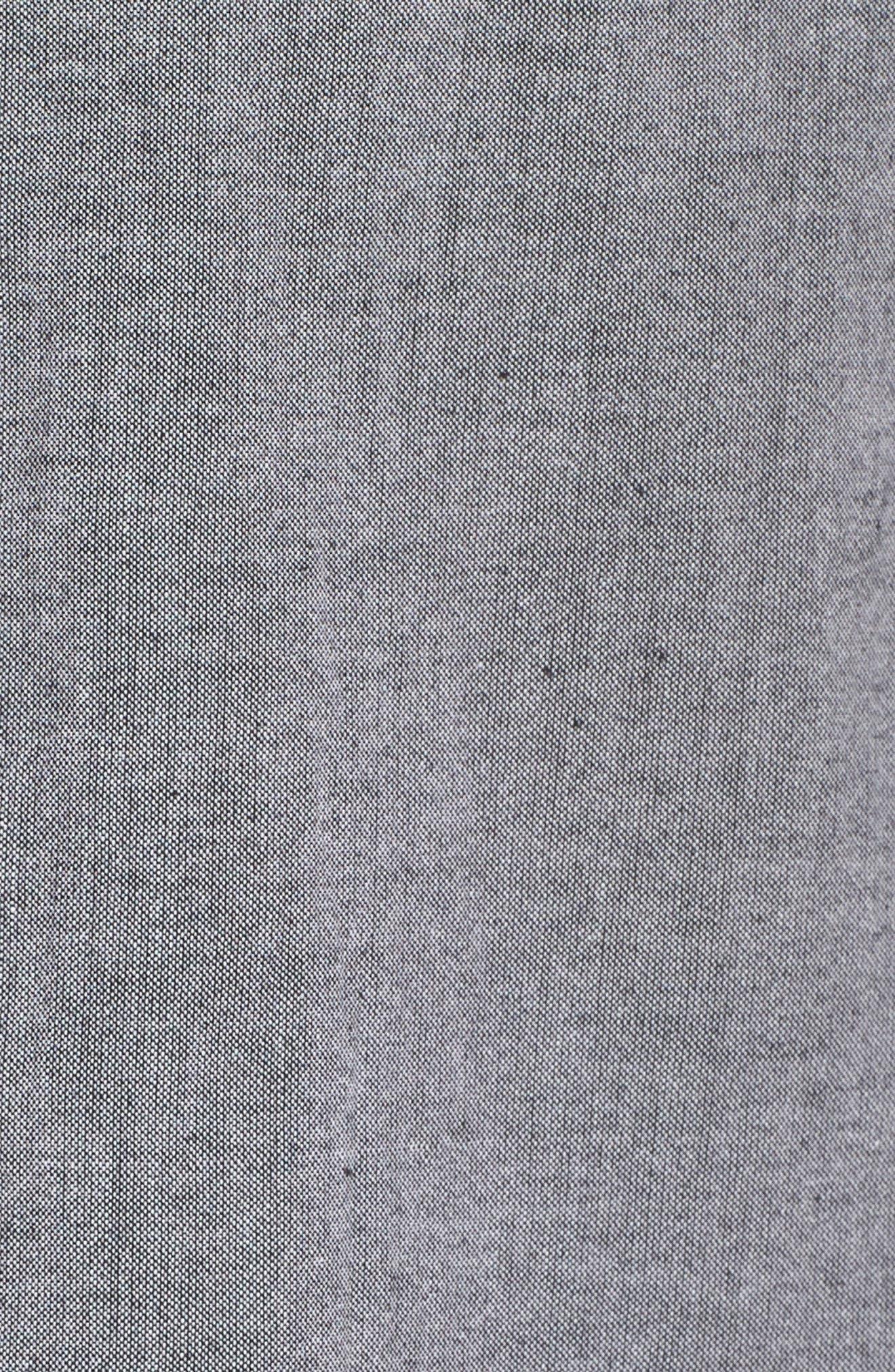 Short Pajamas,                             Alternate thumbnail 5, color,                             Charcoal
