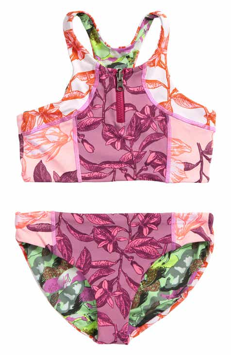 15a0a9c6284fc Maaji Coral Beans Reversible Two-Piece Swimsuit (Big Girls)