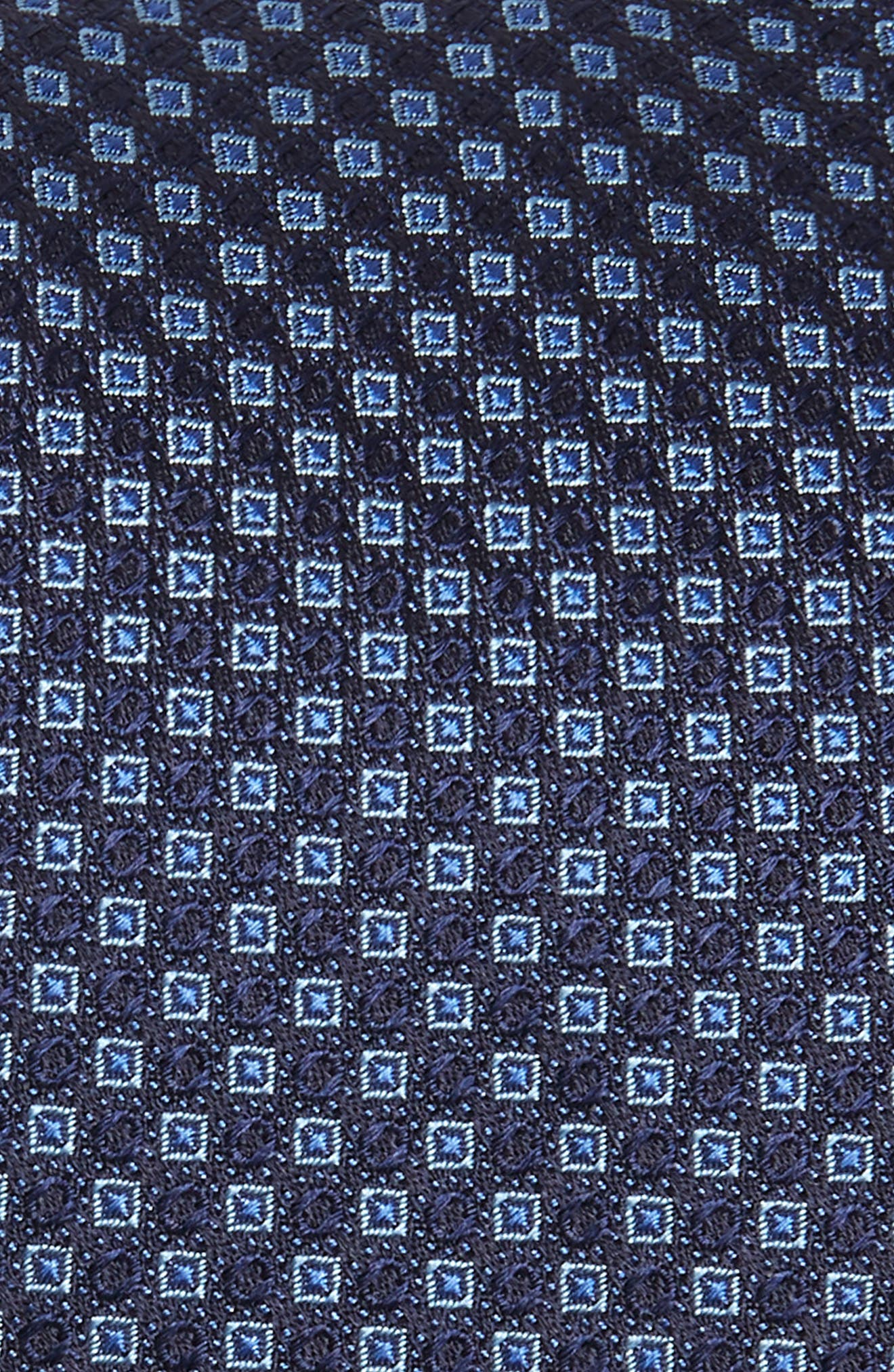 Enna Neat Silk Tie,                             Alternate thumbnail 2, color,                             Navy